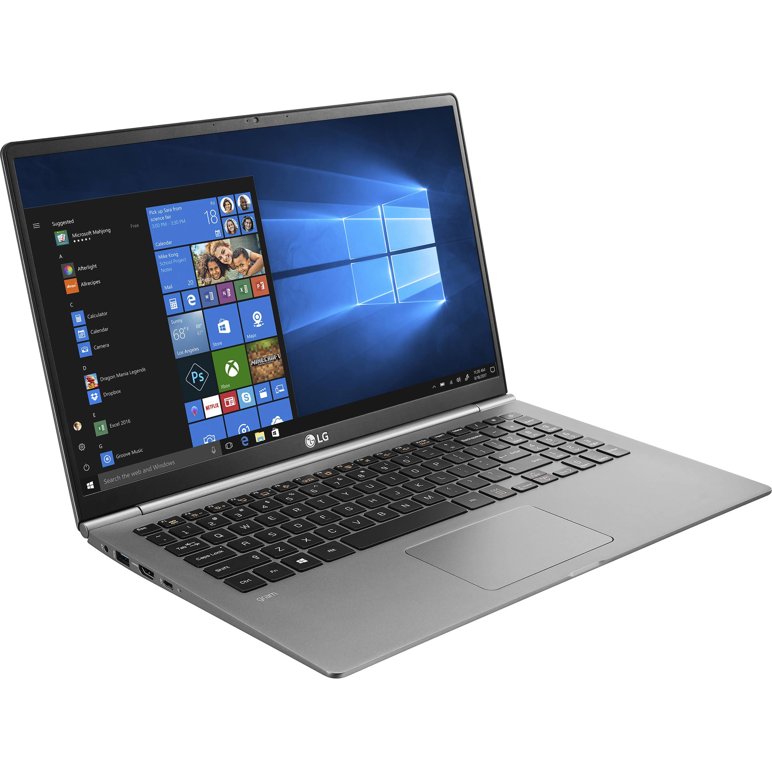 "LG 15.6"" Gram Laptop 15Z980-U.AAS5U1 B&H Photo Video"