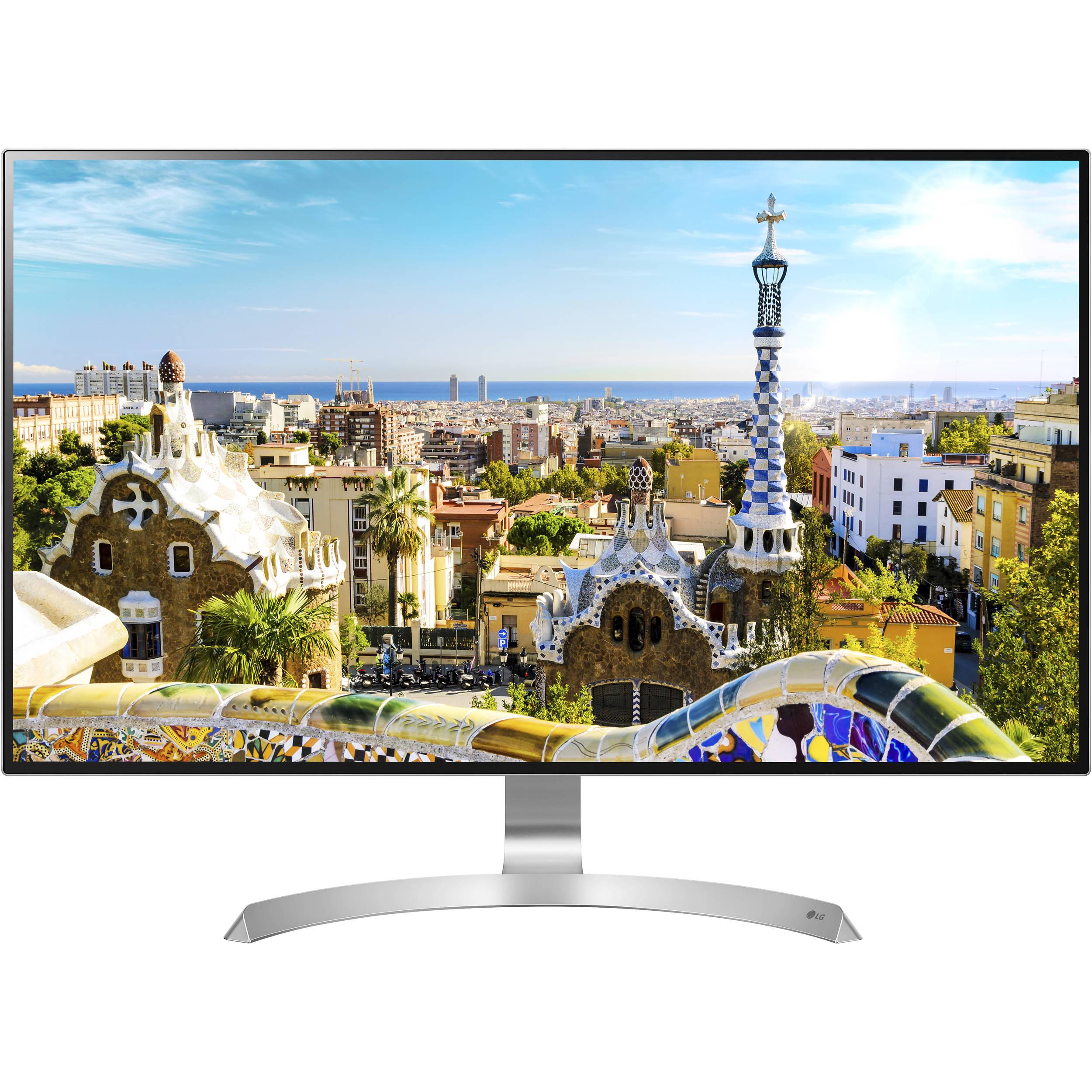 "LG 32MU99-W 32"" 16:9 4K UHD IPS Monitor 32MU99-W B&H"