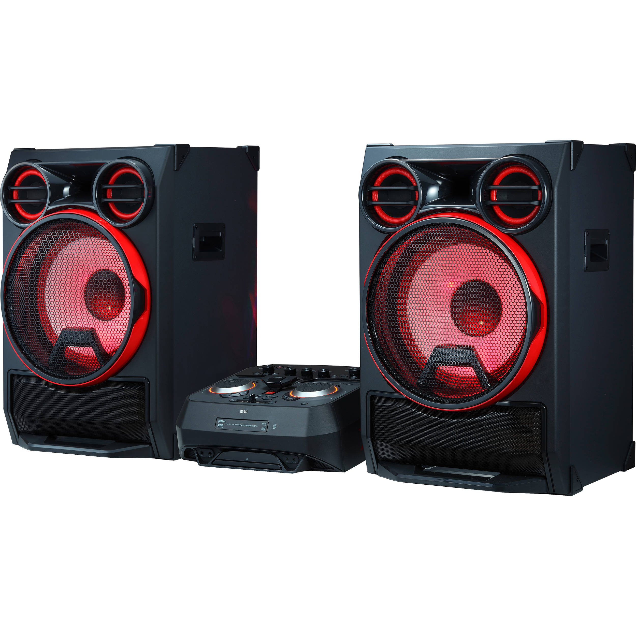 LG CK99 5000W Bluetooth Music System CK99 B&H Photo Video