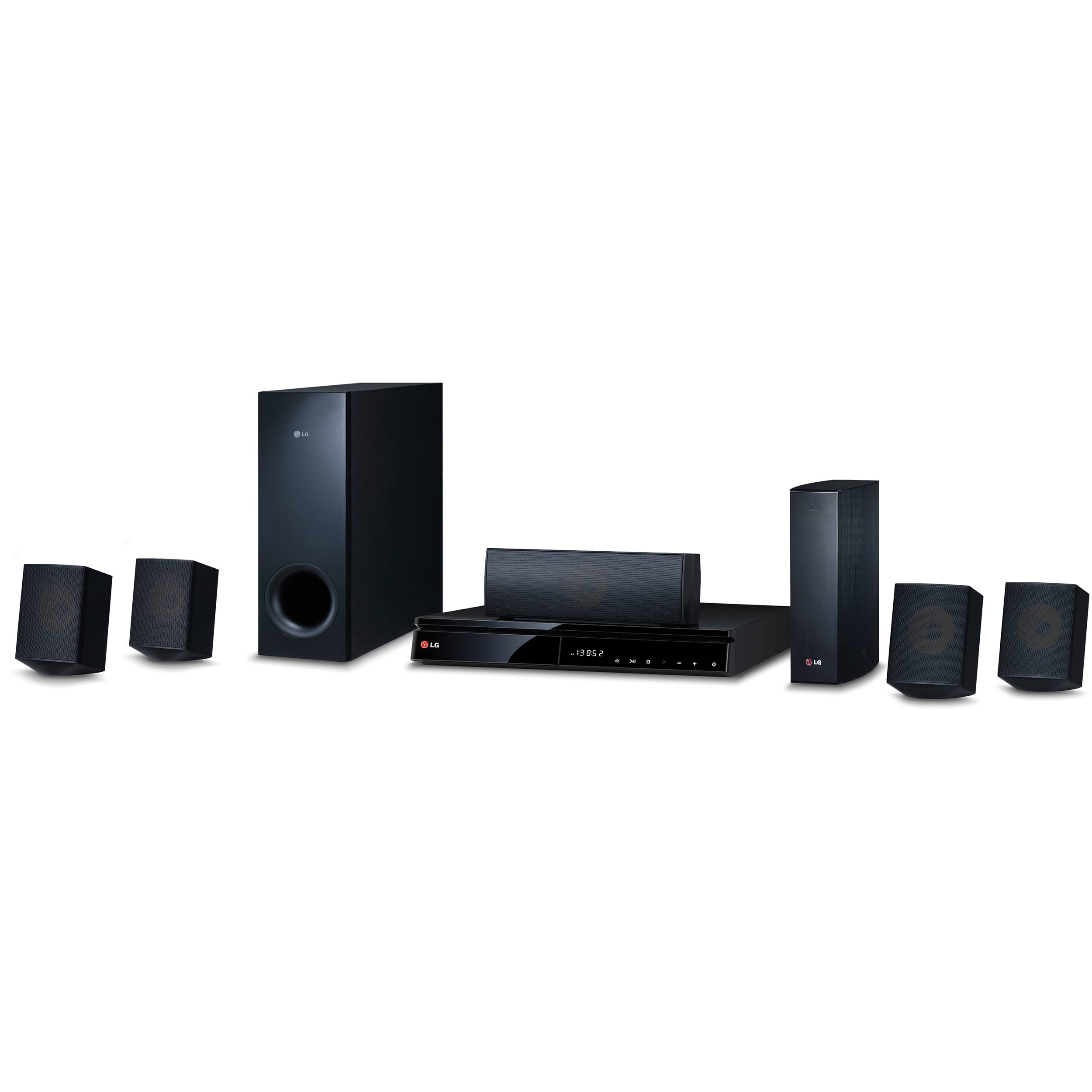 how to connect lg home theater speakers