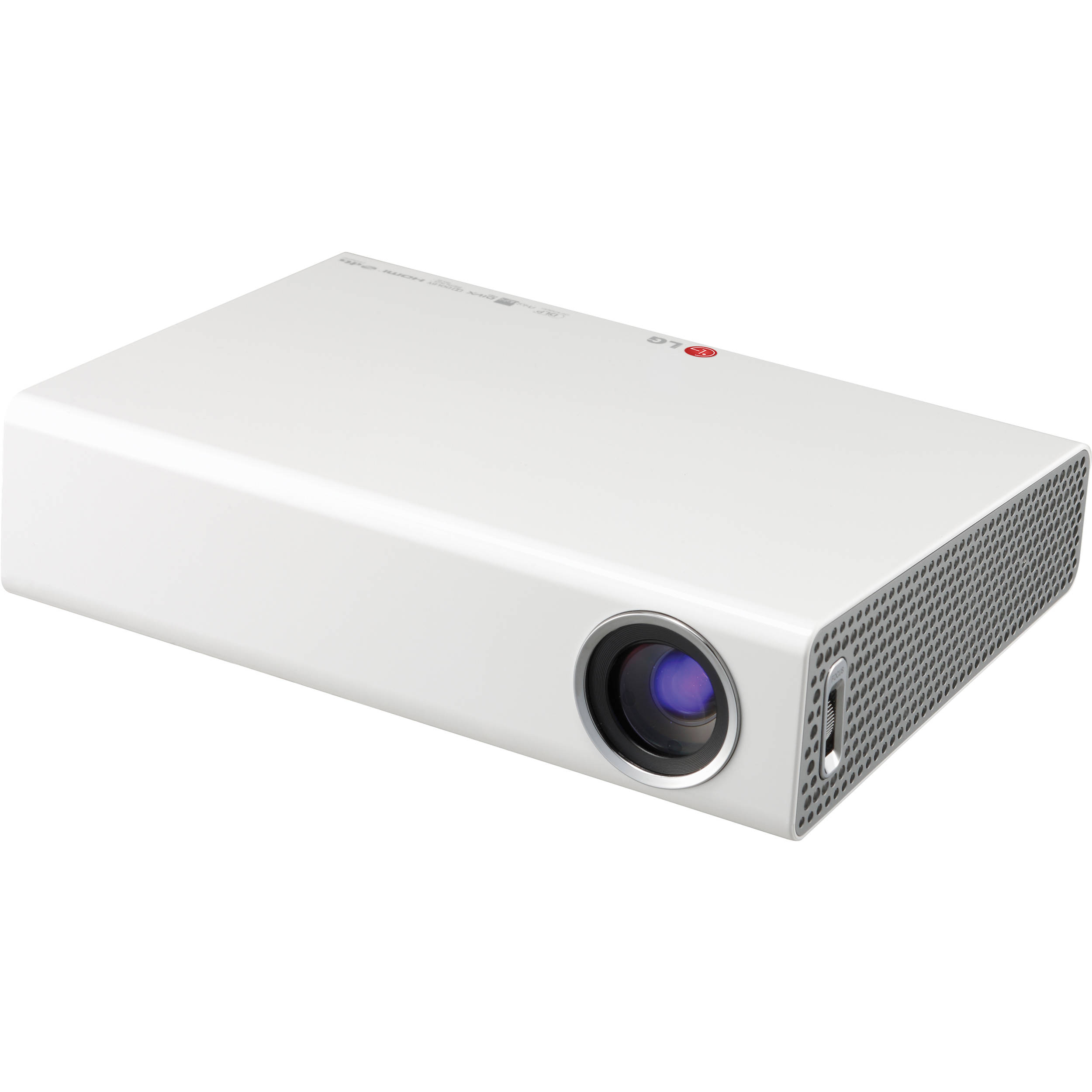 Tv Tuner Projector High Definition Home Theater Wxga Full: LG PA77U Portable LED Projector With Built-In Digital TV PA77U