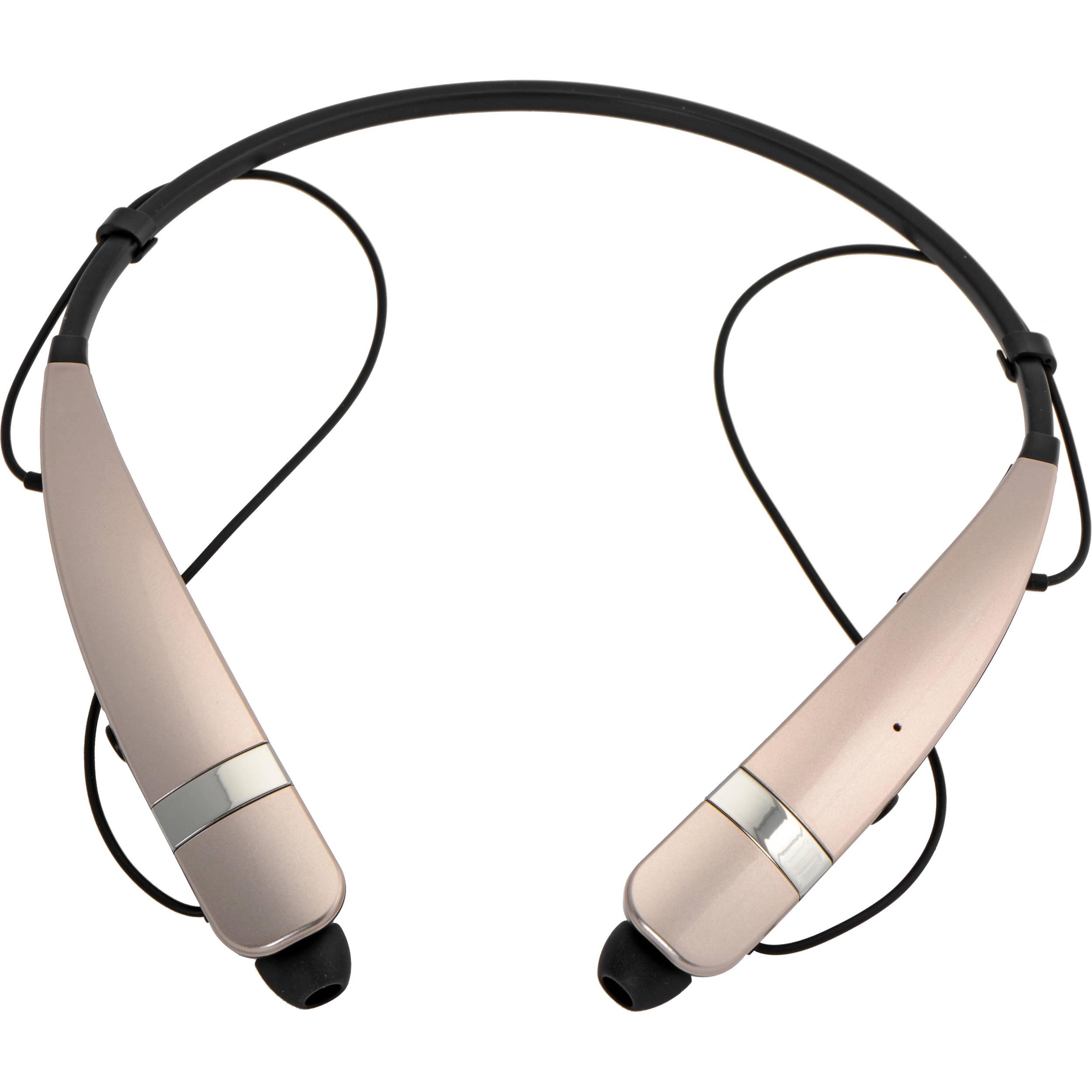 LG HBS-760 TONE PRO Bluetooth Wireless Stereo Headset (Gold