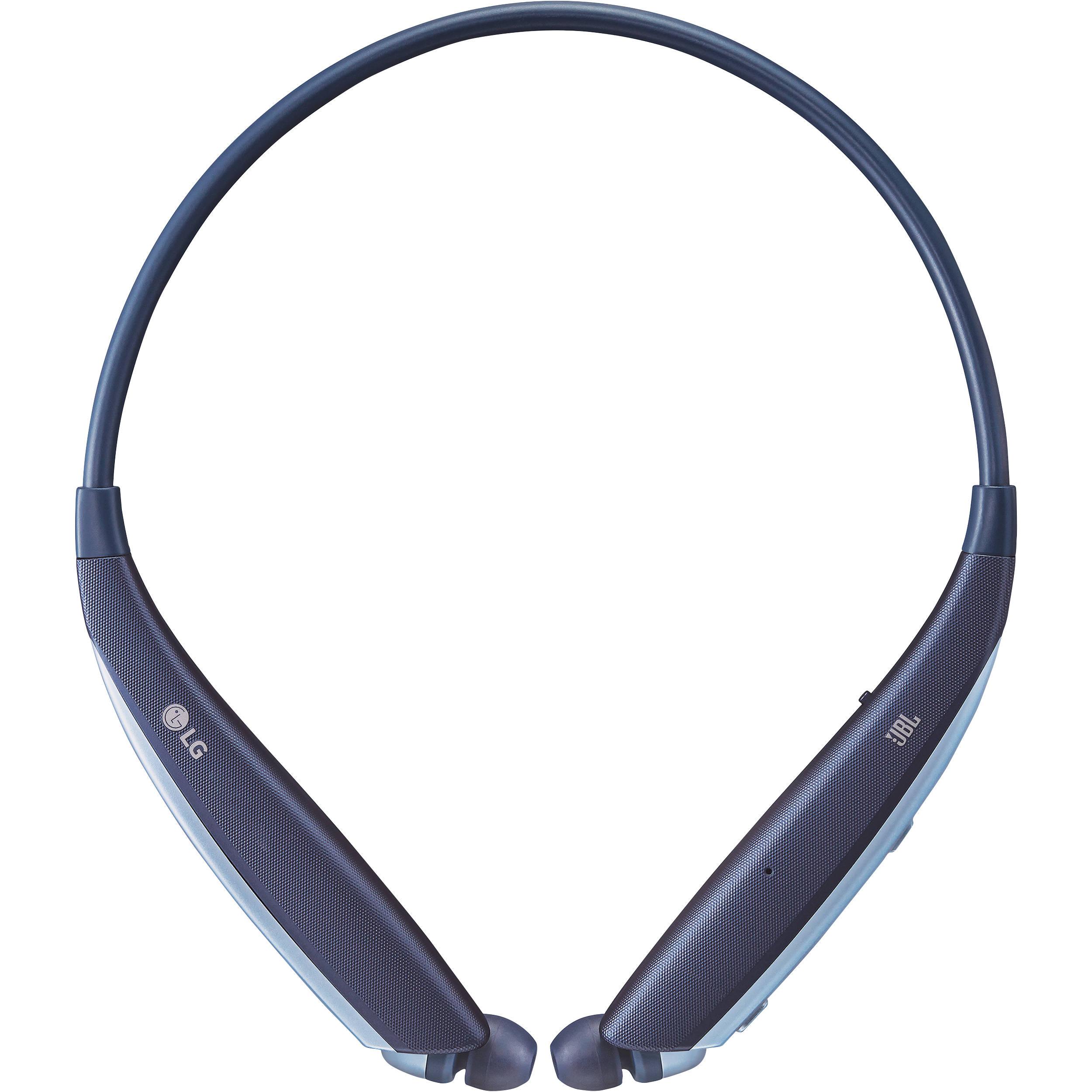 LG HBS-835 TONE Ultra Wireless In-Ear Headphones (Blue)