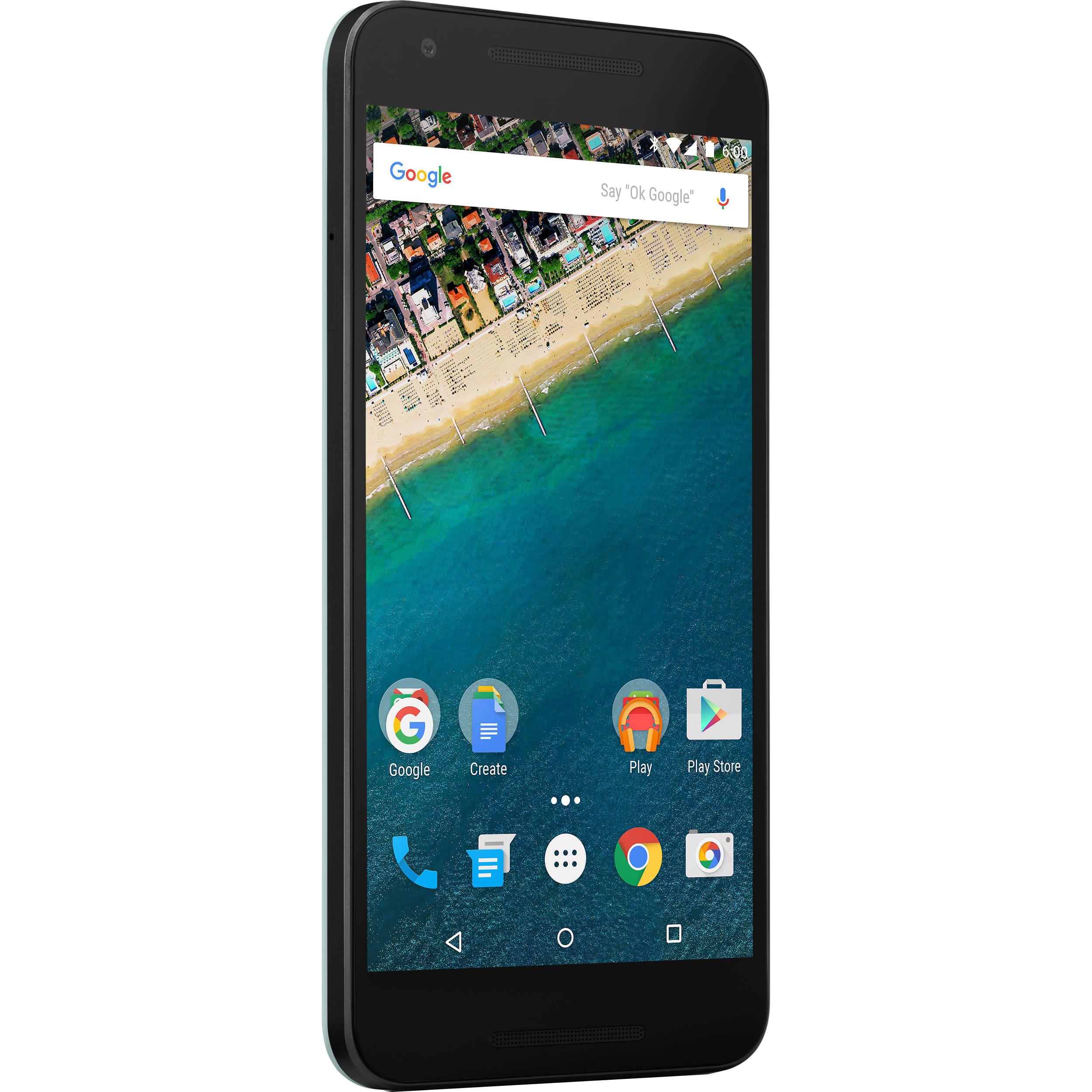 LG Google Nexus 5X 16GB Smartphone (Unlocked, Mint