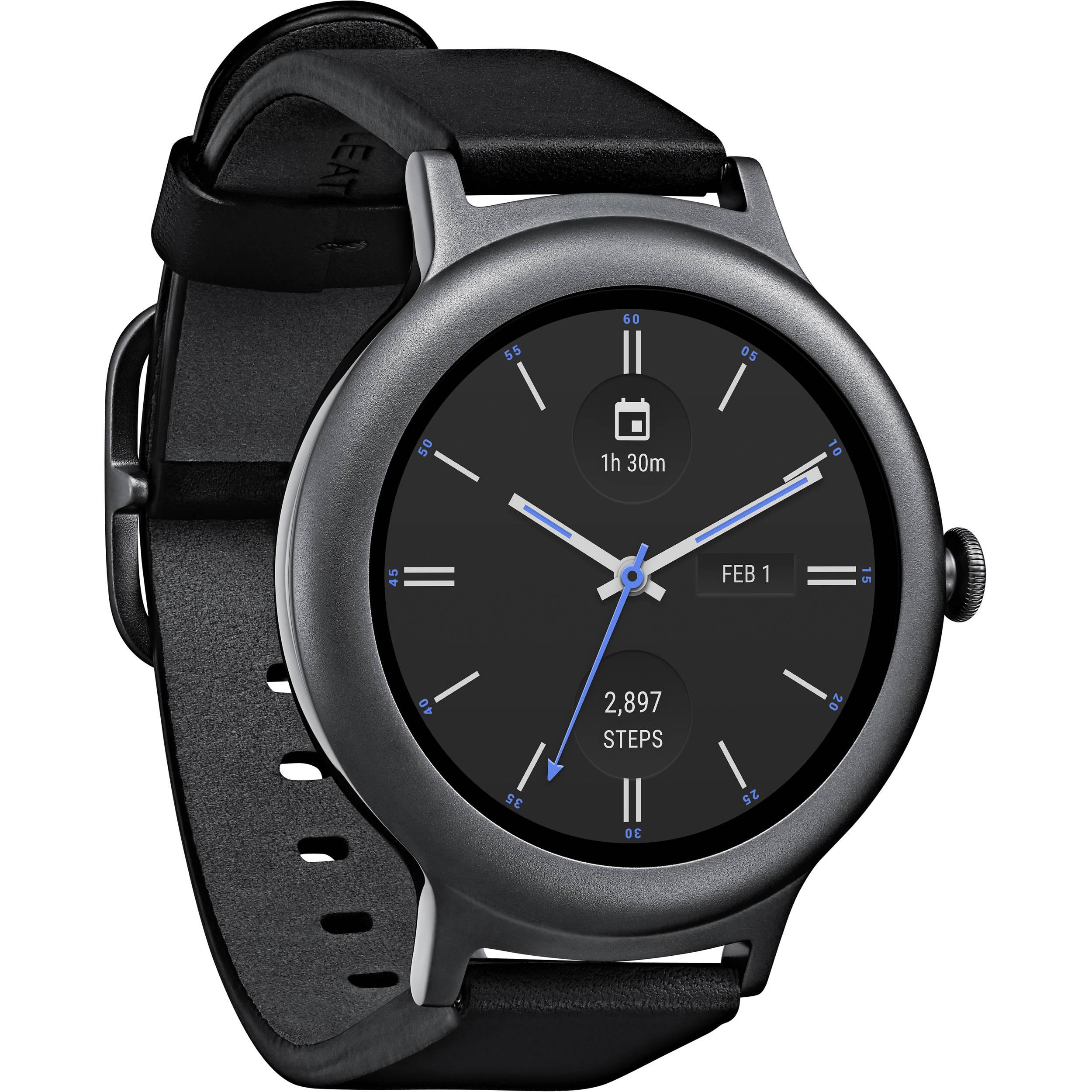 LG Watch Style Smartwatch (Titanium) LGW270T B&H Photo Video