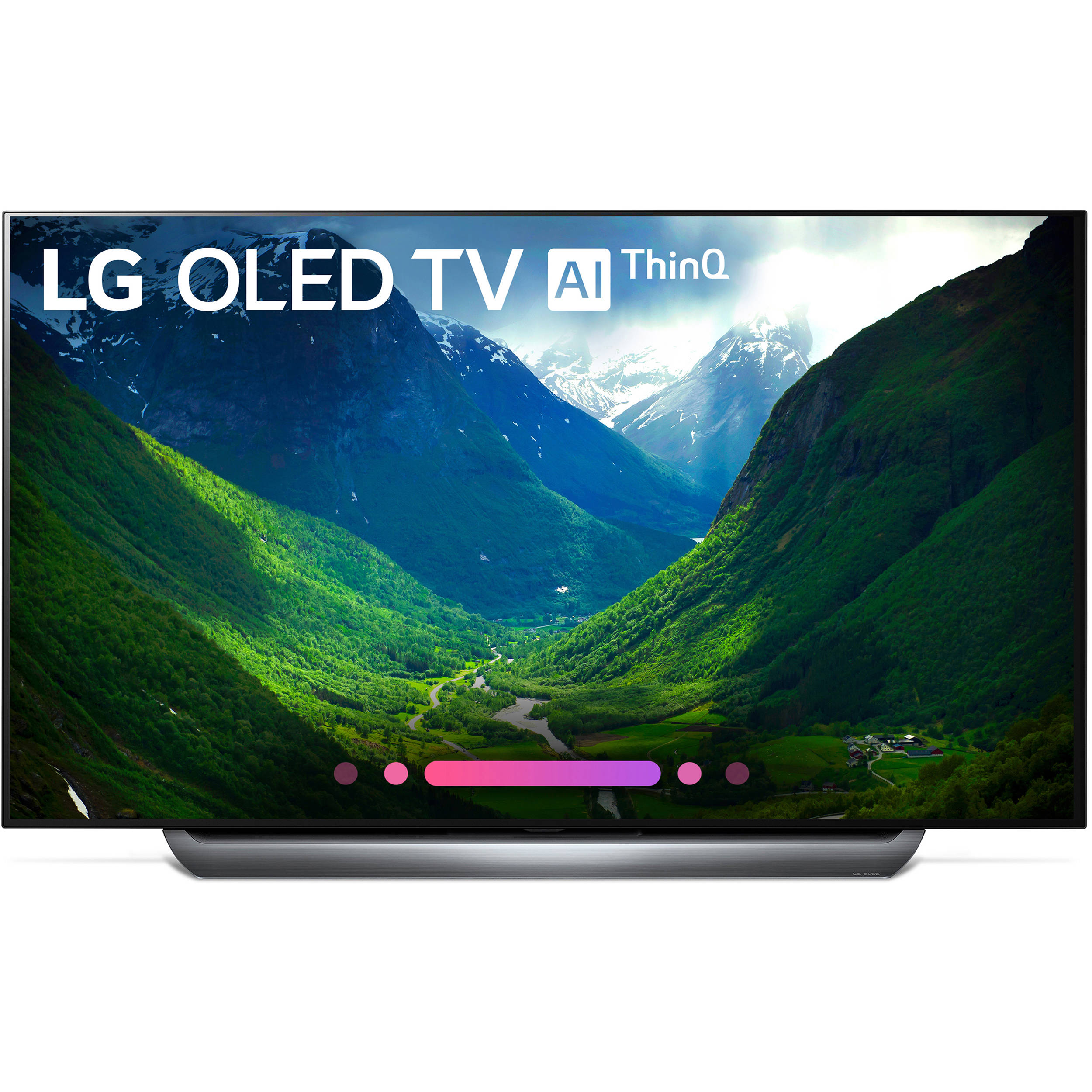 lg c8pua series 55 class hdr uhd smart oled tv oled55c8pua. Black Bedroom Furniture Sets. Home Design Ideas