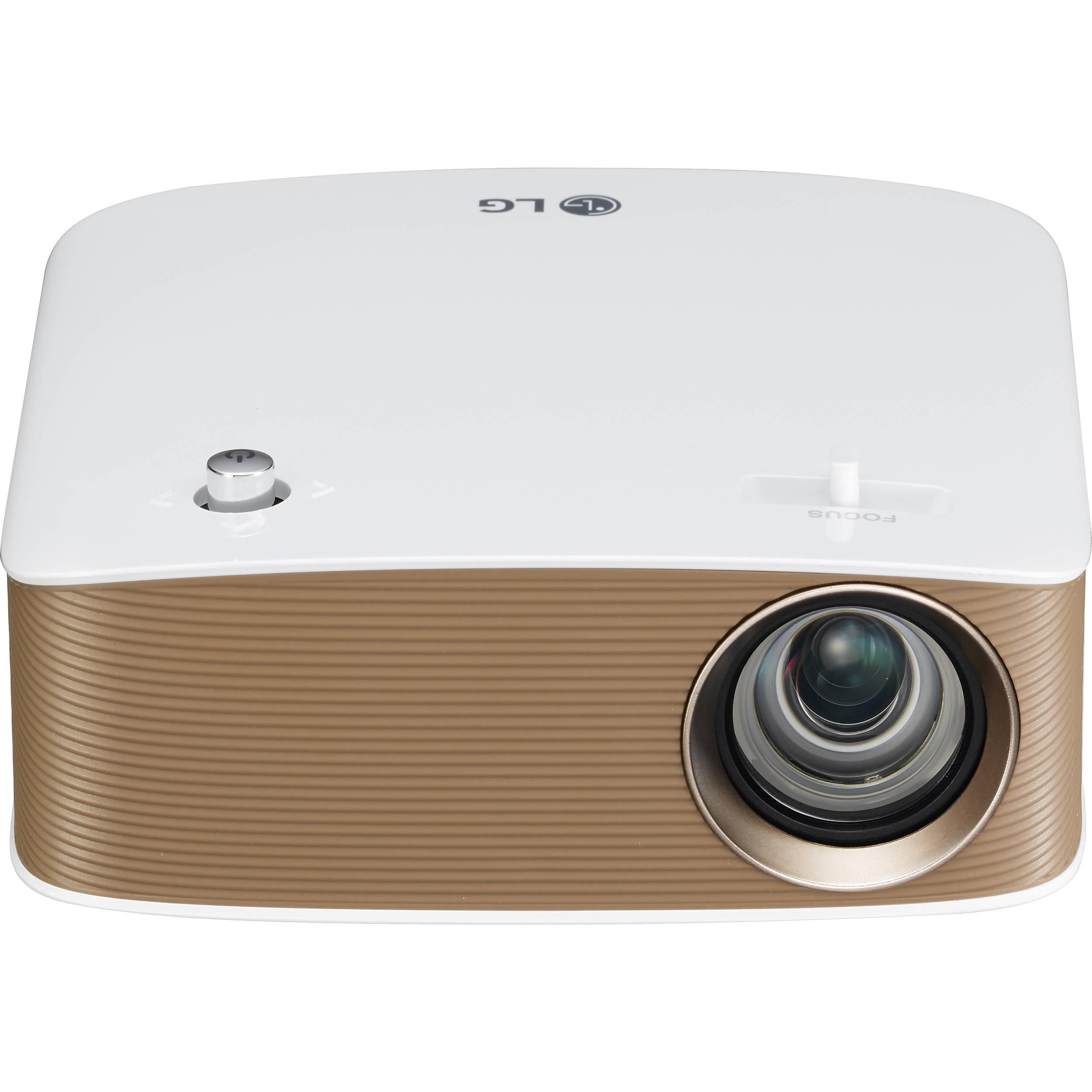 Lg minibeam nano 130 lumen hd lcos pico projector ph150g b h for Hd pico projector