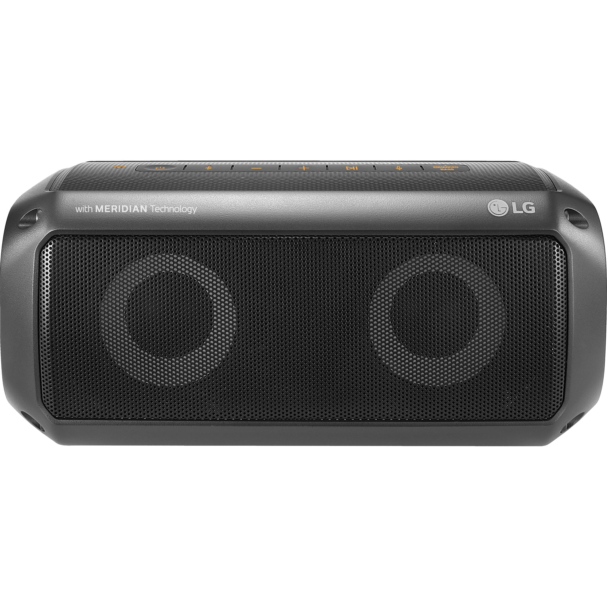 lg pk3 portable bluetooth speaker with meridian technology pk3. Black Bedroom Furniture Sets. Home Design Ideas