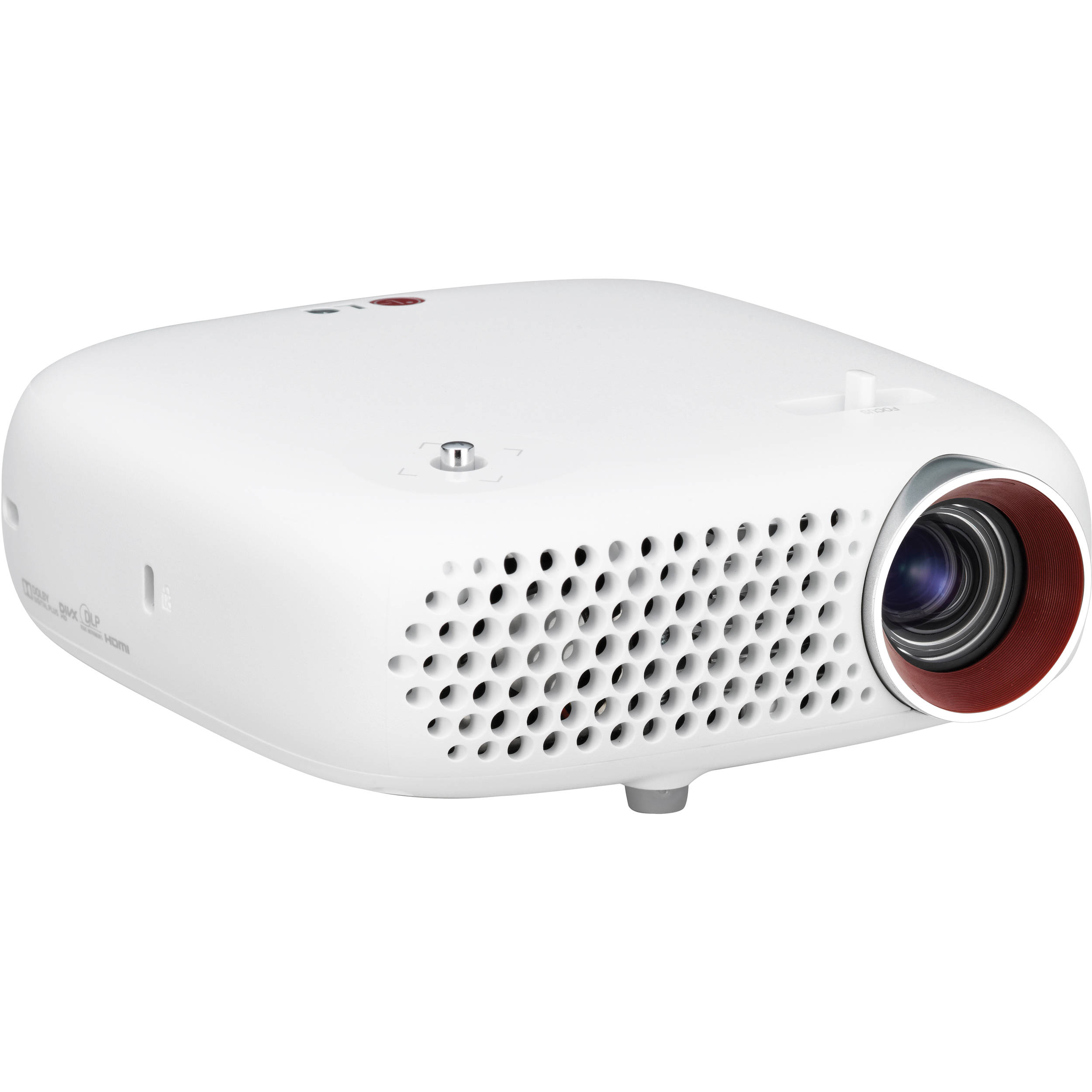 Lg pw600g portable hd led projector pw600g b h photo video for Hd mobile projector