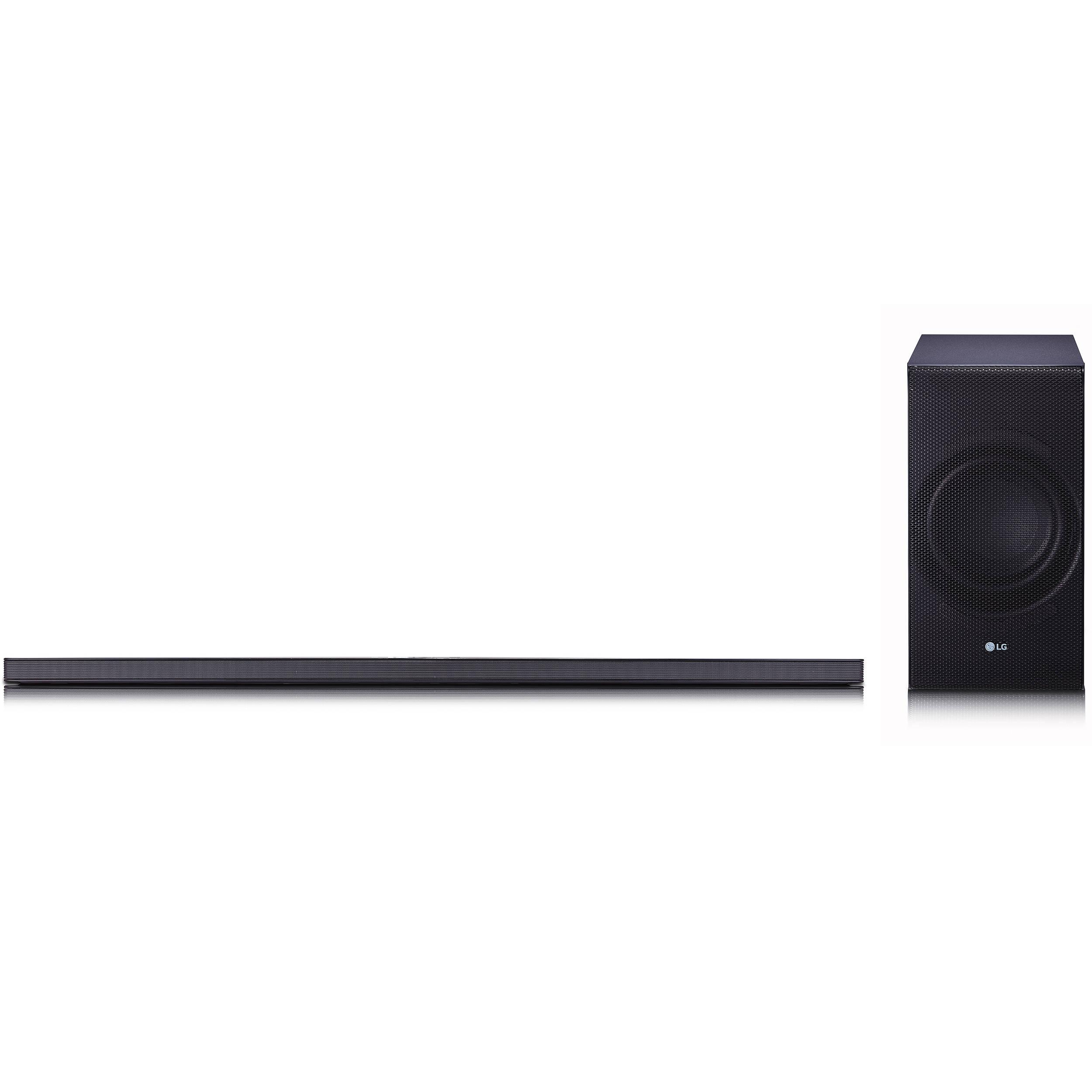 Lg Sj8 300w 2 1 Channel Soundbar System Sj8 B Amp H Photo Video
