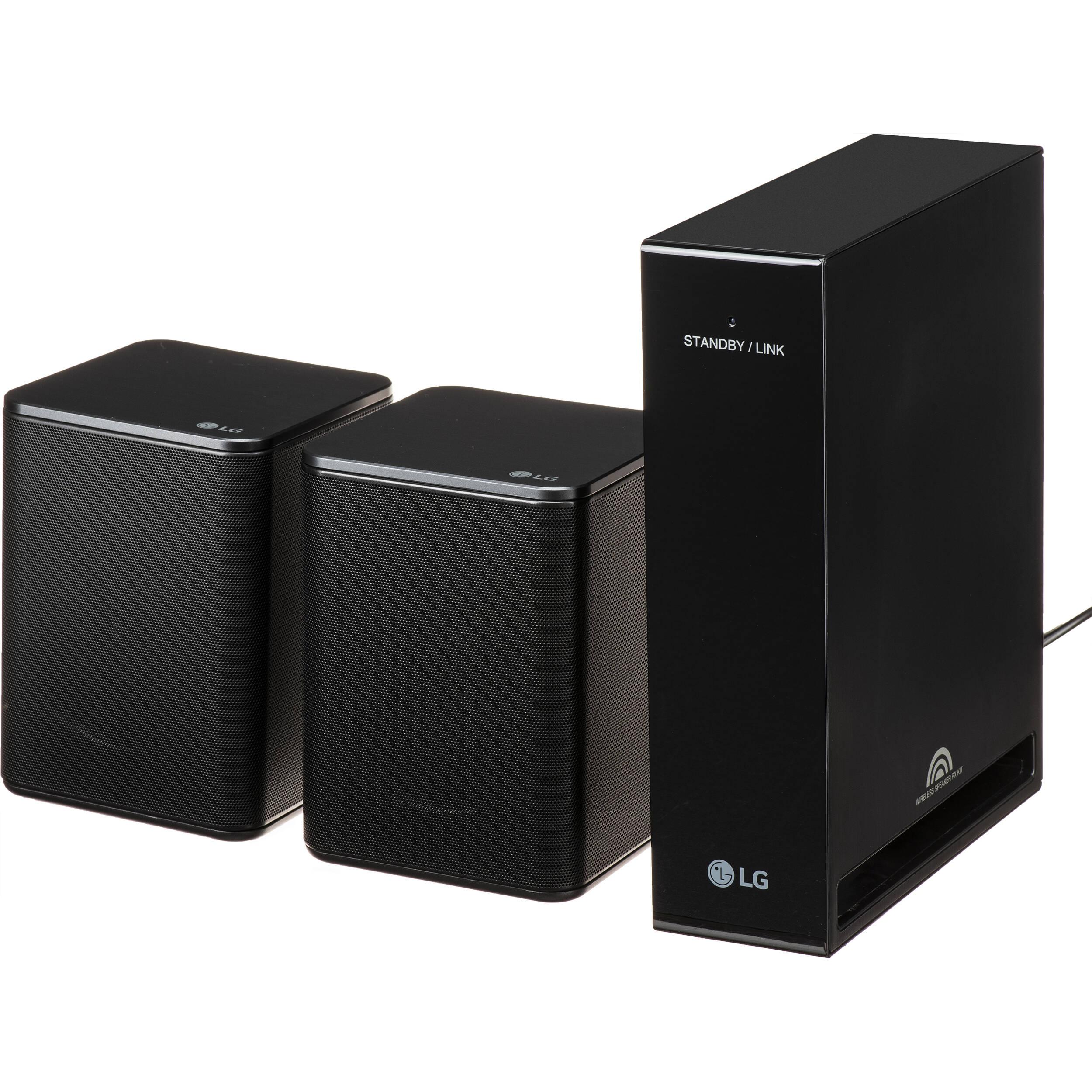 LG SPK9-S Wireless Rear Speaker Accessory Kit for Select Soundbars