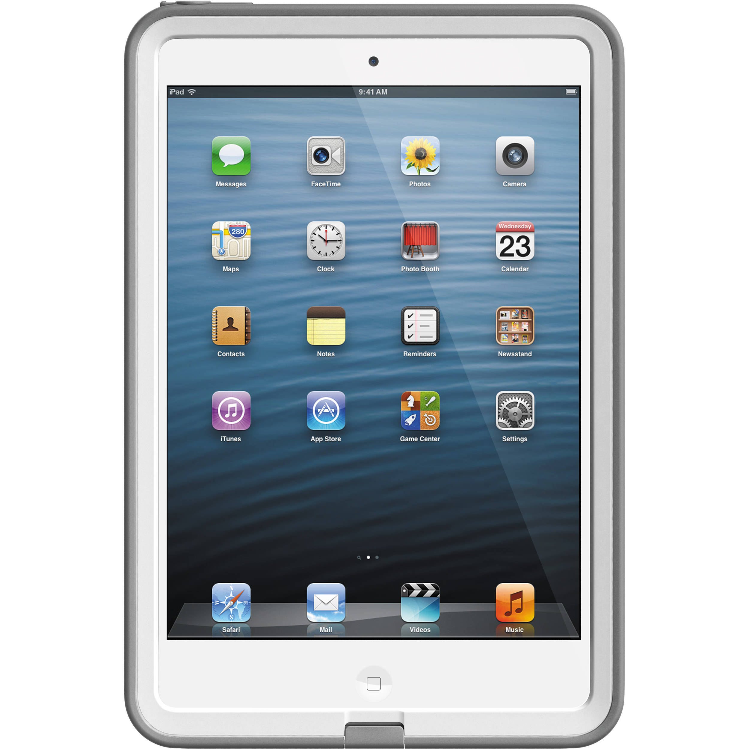 new style efd3c 4834f LifeProof frē Case for iPad mini (White/Gray)