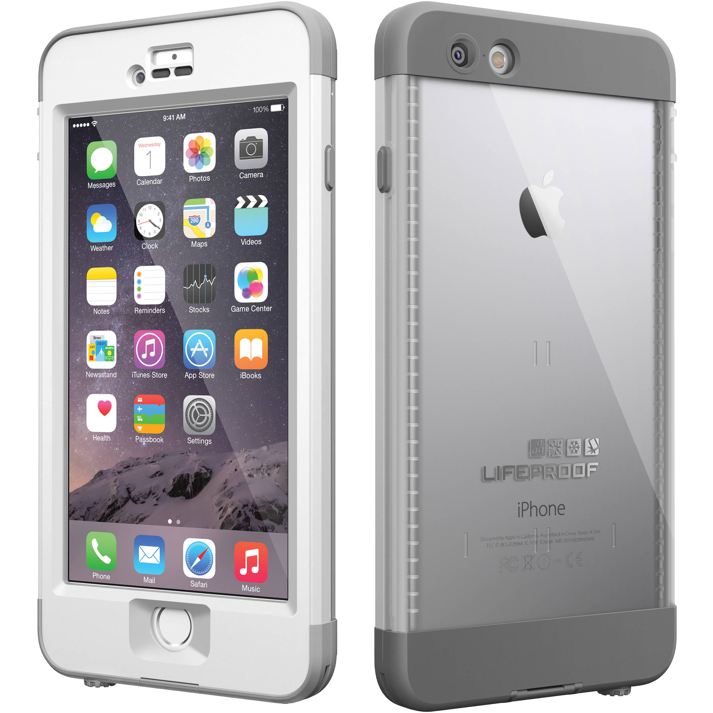 Lifeproof n 252 252 d case for iphone 6 plus 77 50365 b amp h