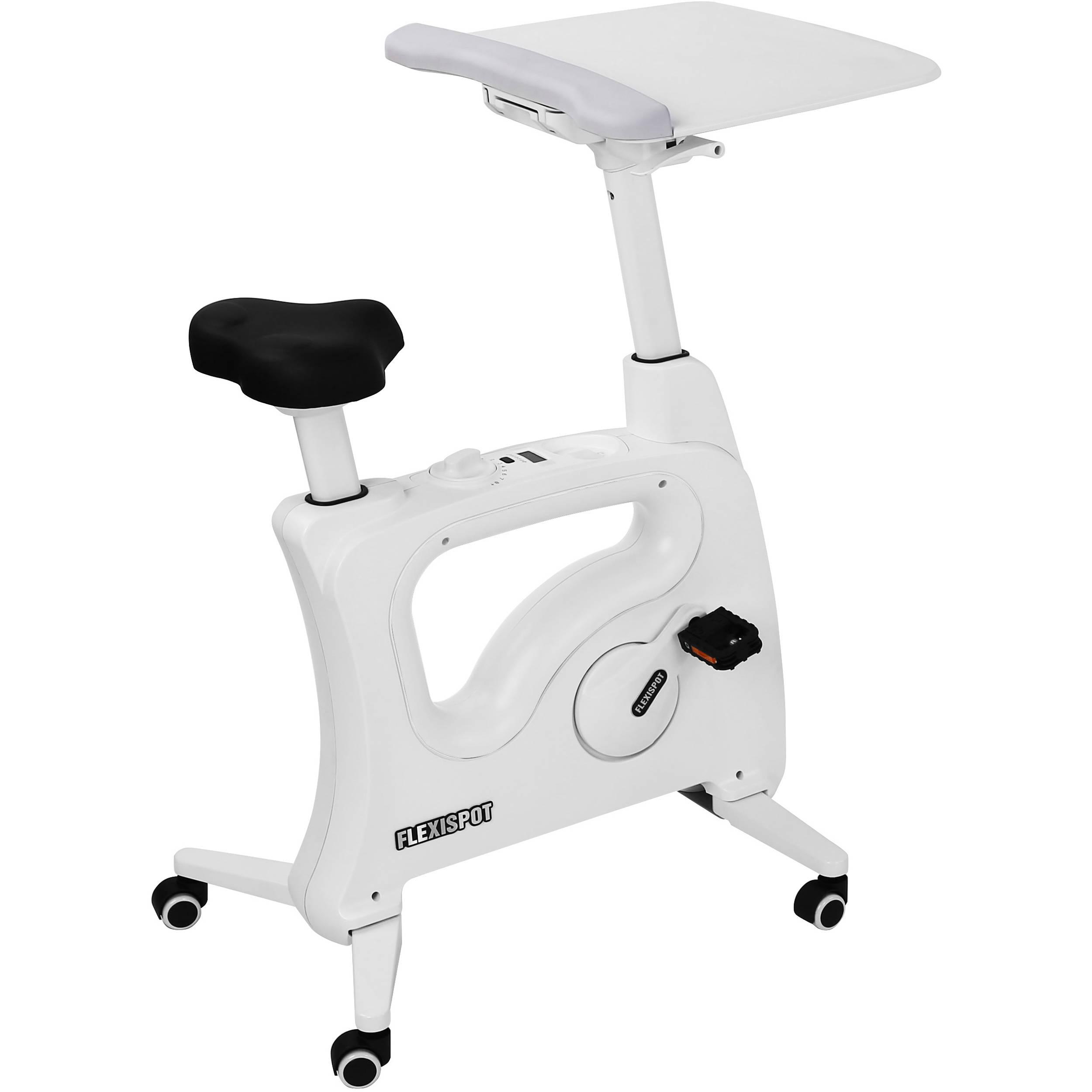 loctek flexispot v9 desk exercise bike white v9 b h photo  loctek flexispot v9 desk exercise bike white