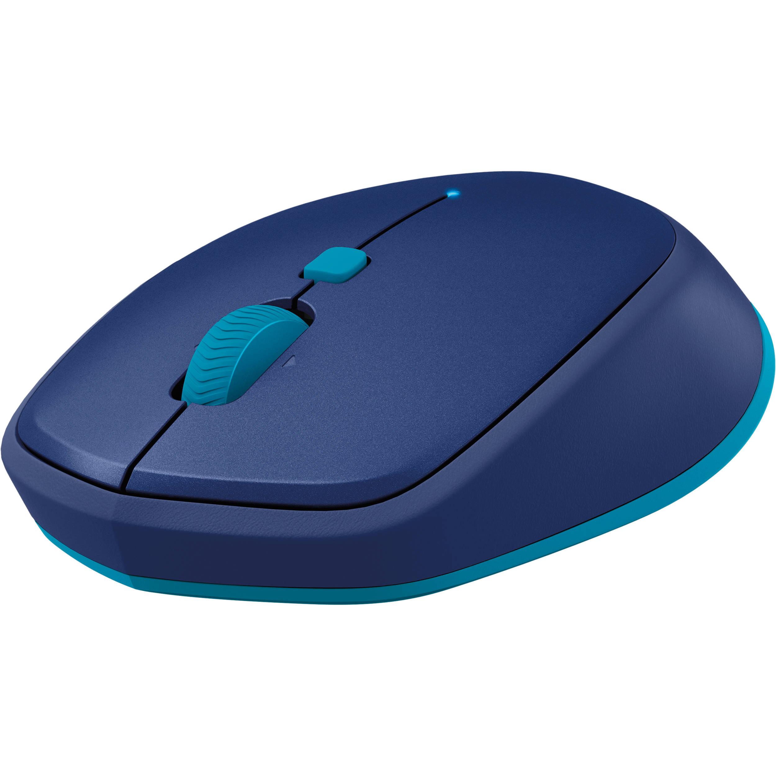 863c1e9a8dc Logitech M535 Bluetooth Mouse (Blue) 910-004529 B&H Photo Video