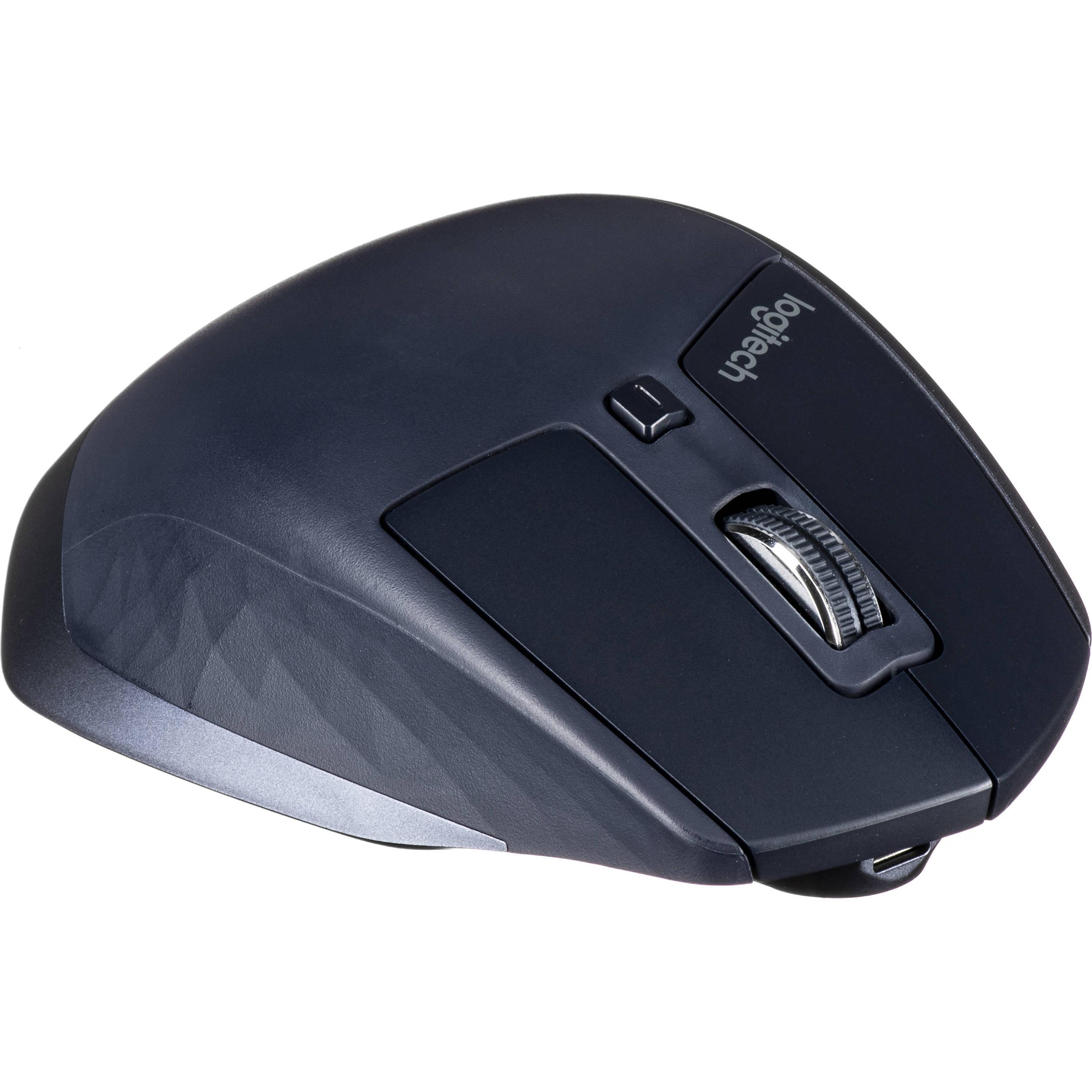 eeb8fcb9d81 Logitech MX Master Wireless Mouse (Navy Blue) 910-004955 B&H
