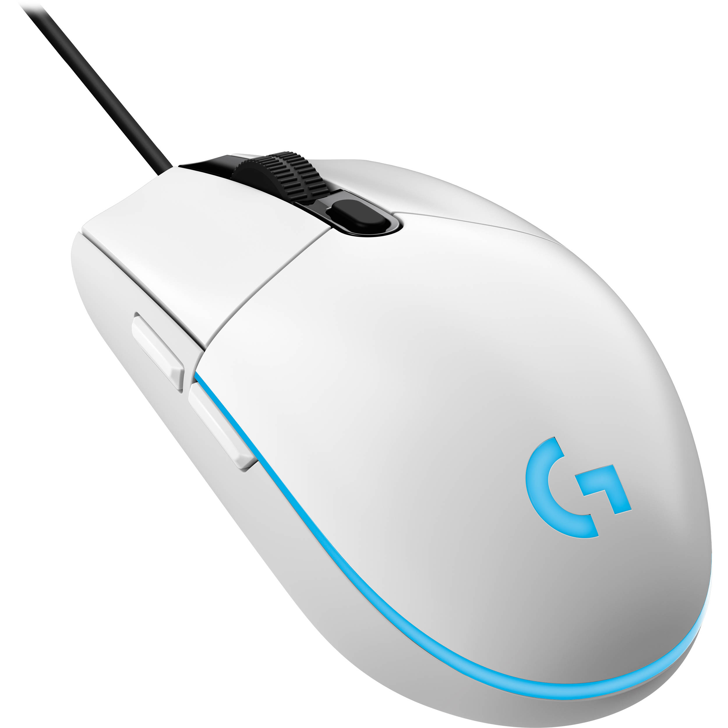 Logitech G203 Prodigy Wired Mouse (White) 910-005081 B&H Photo