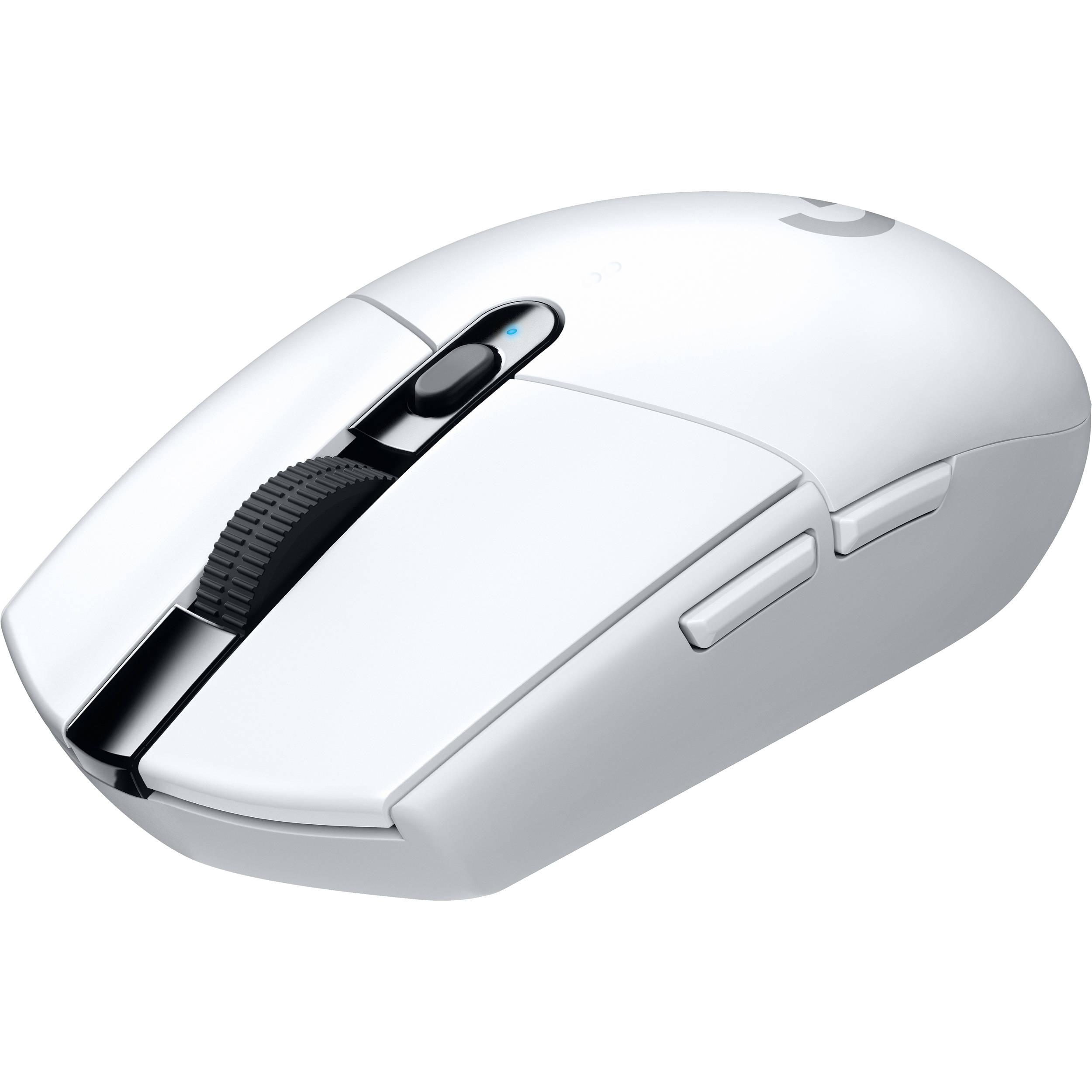 0d1c4e9141e Logitech G305 LIGHTSPEED Wireless Mouse (White) 910-005289 B&H
