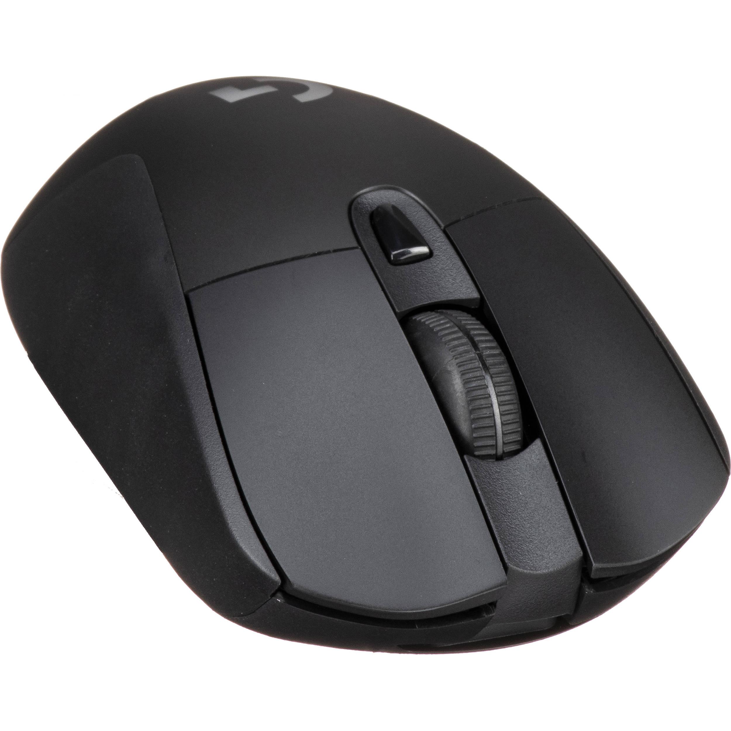 Logitech G G703 Hero Wireless Gaming Mouse 910 005638 B H Photo
