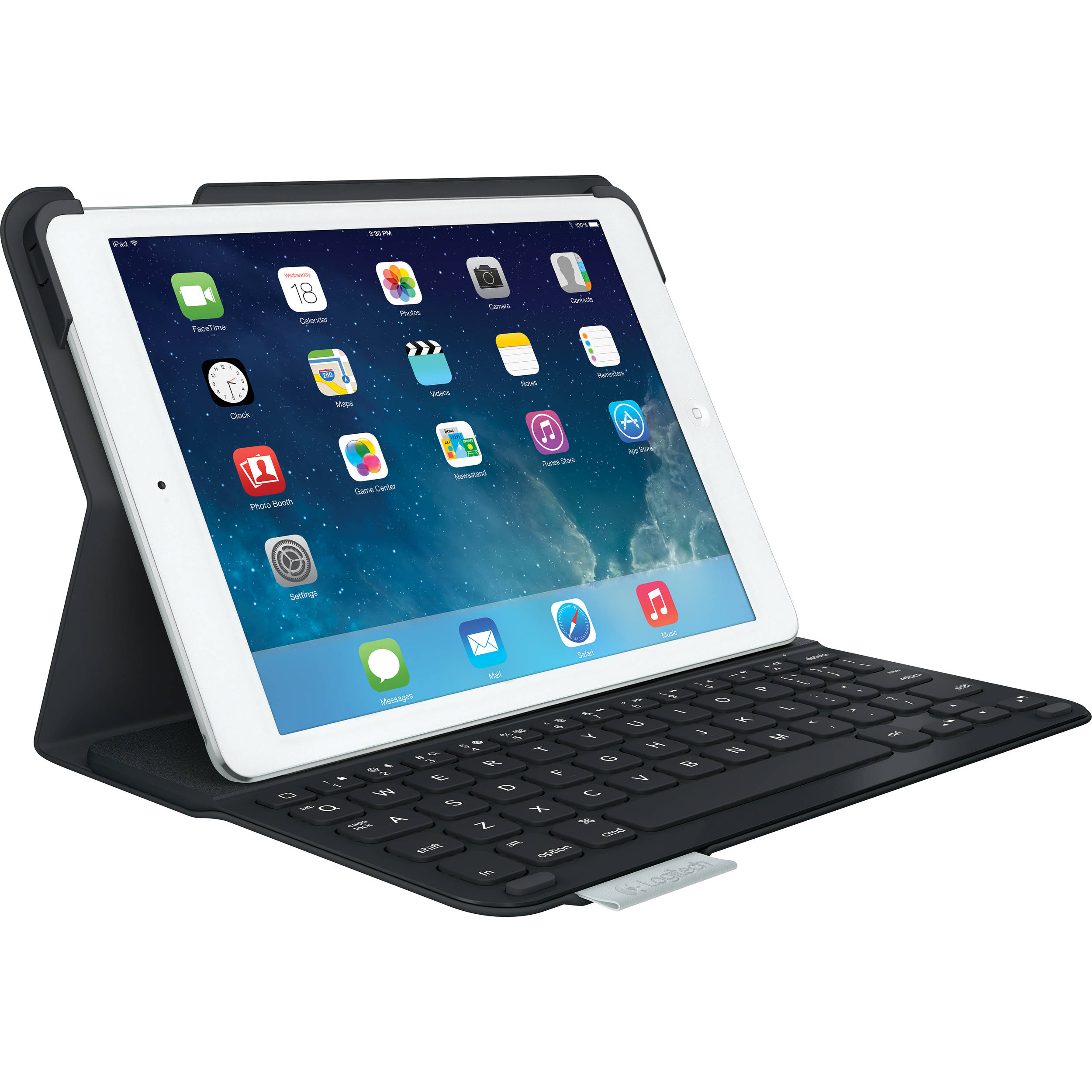 logitech ultrathin keyboard cover for ipad air 920 005905 b h. Black Bedroom Furniture Sets. Home Design Ideas
