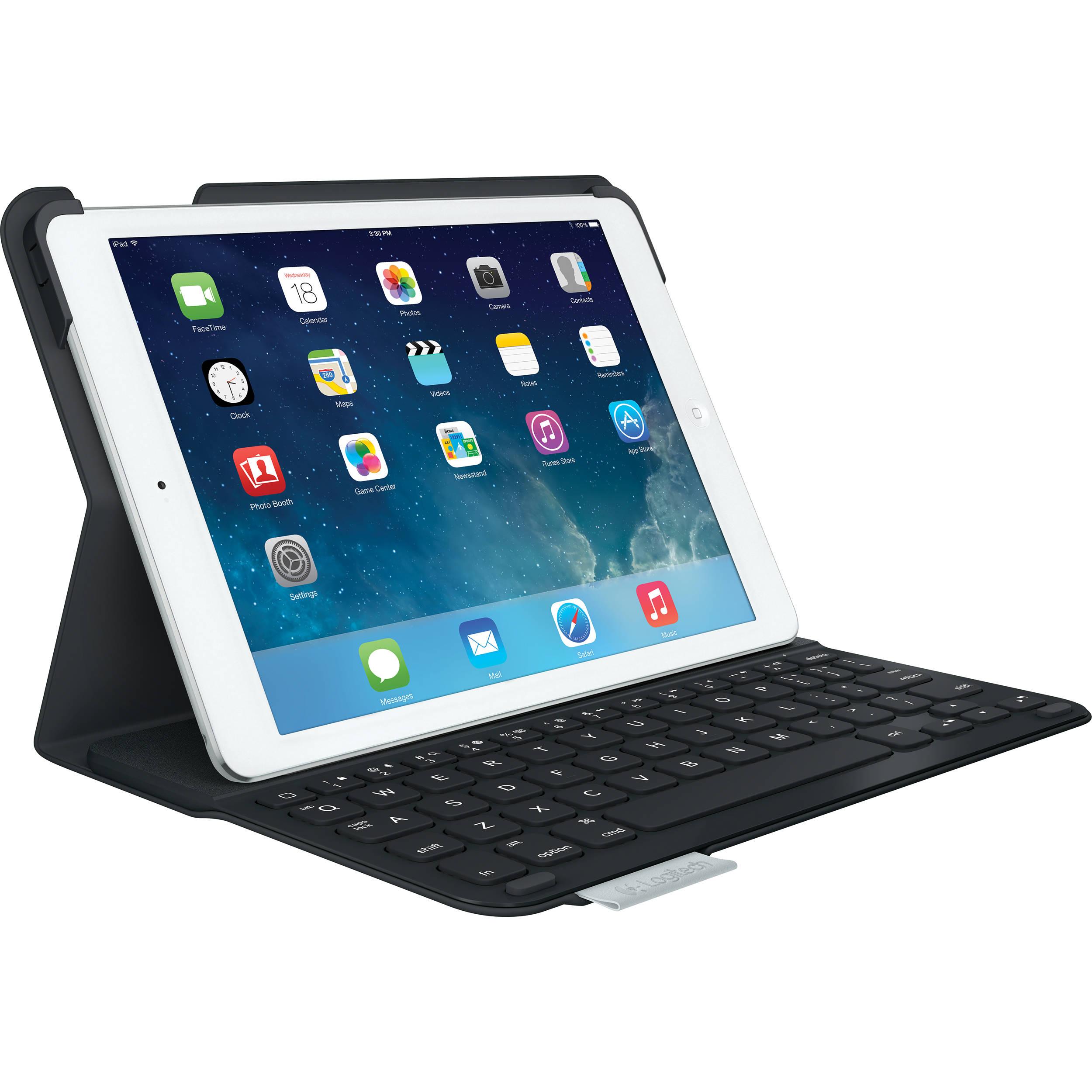 Logitech Ultrathin Keyboard Cover For IPad Air 920 005905 BampH