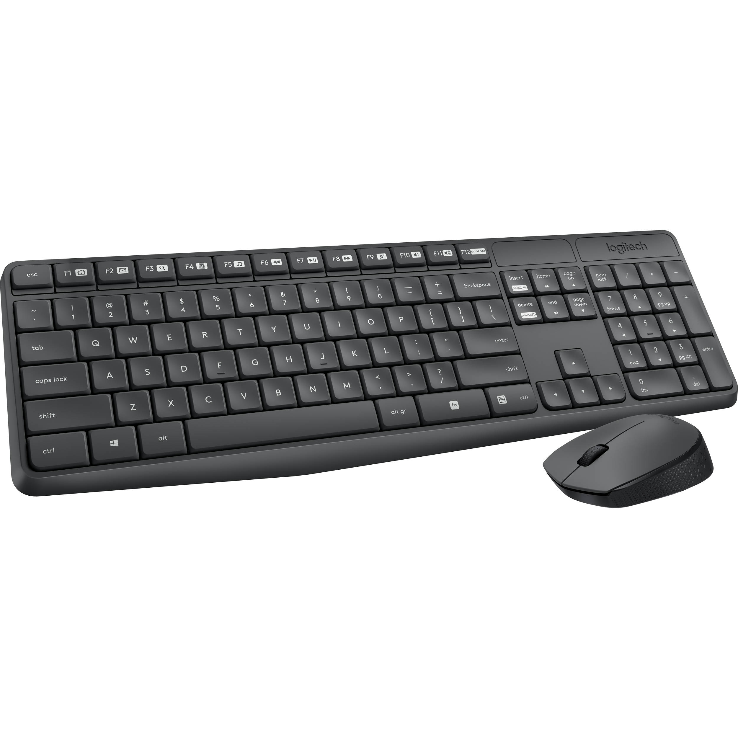 f5ff78520fd Logitech MK235 Wireless Keyboard and Mouse 920-007897 B&H Photo