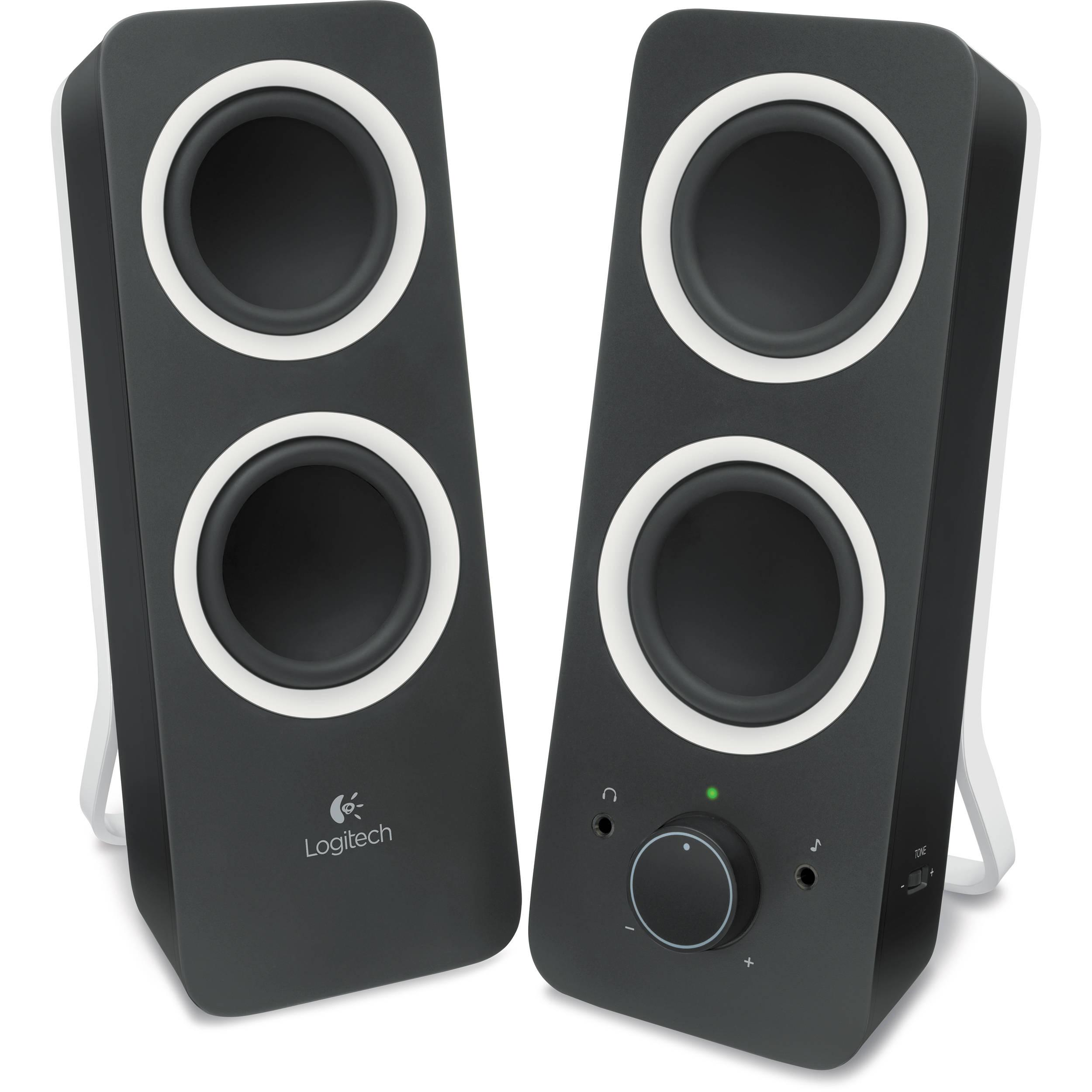 Logitech Multimedia Speakers Z200 (Midnight Black) 980-000800