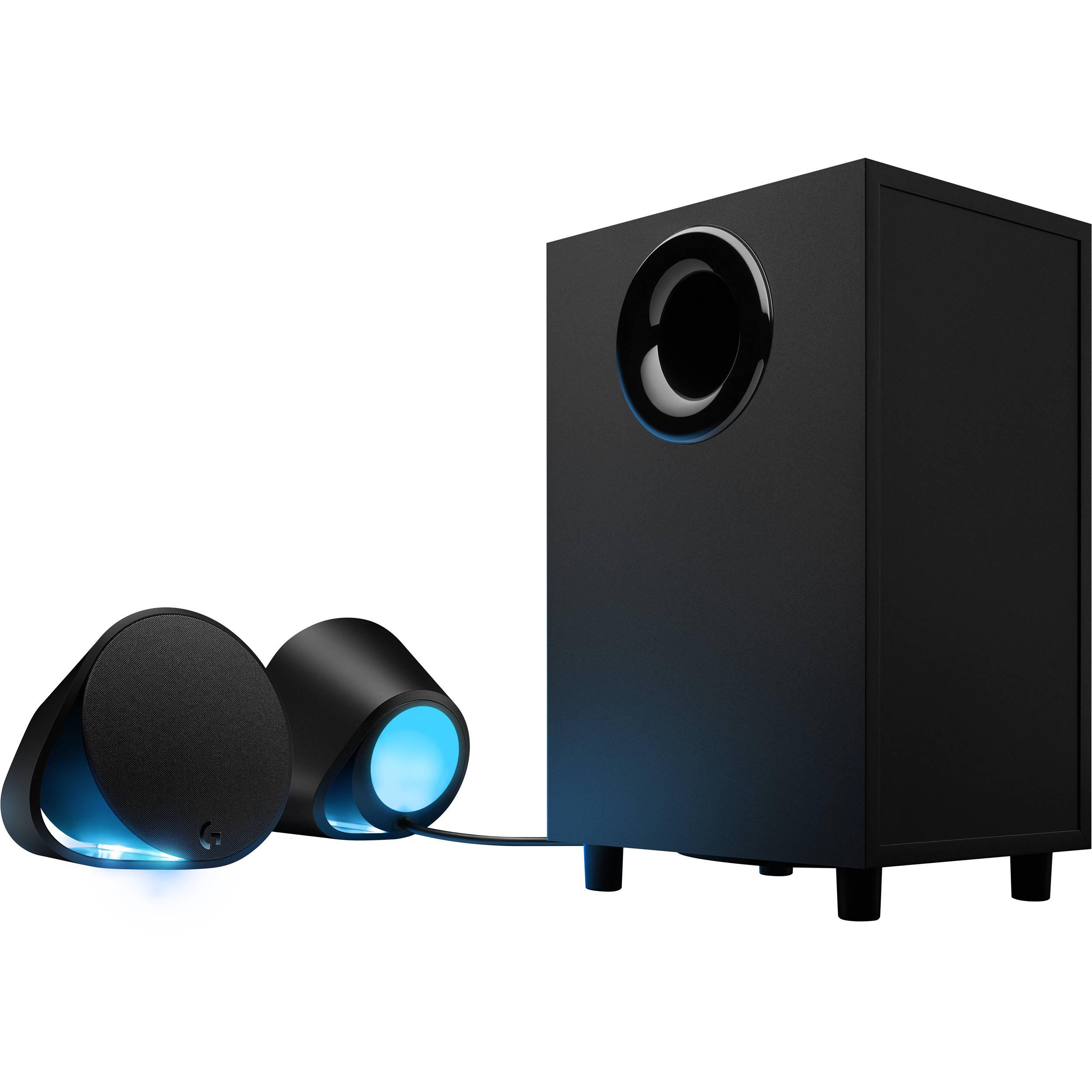 d404f4bab19 Logitech G560 LIGHTSYNC PC Gaming Speakers 980-001300 B&H Photo