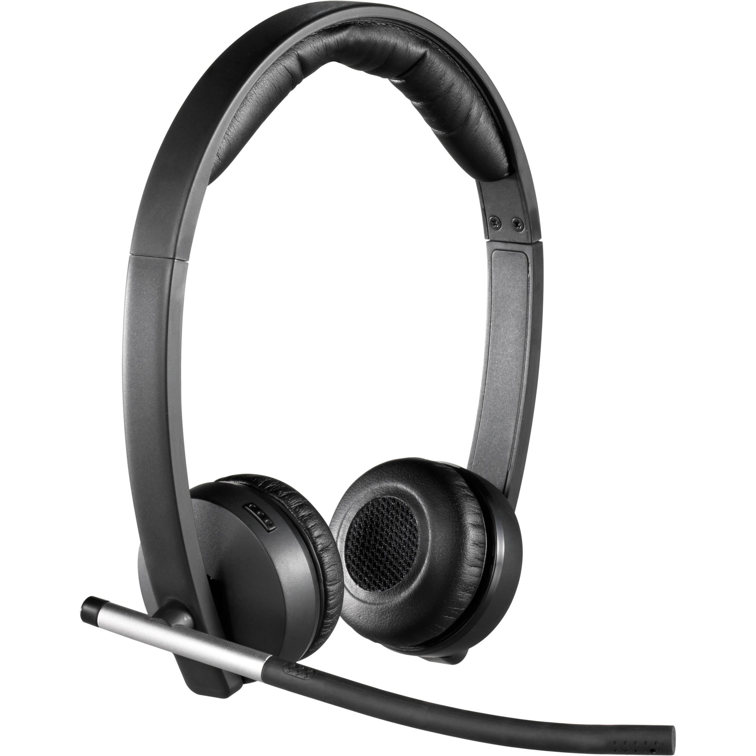 Logitech H820e Wireless Dual Headset 981 000516 B H Photo Video