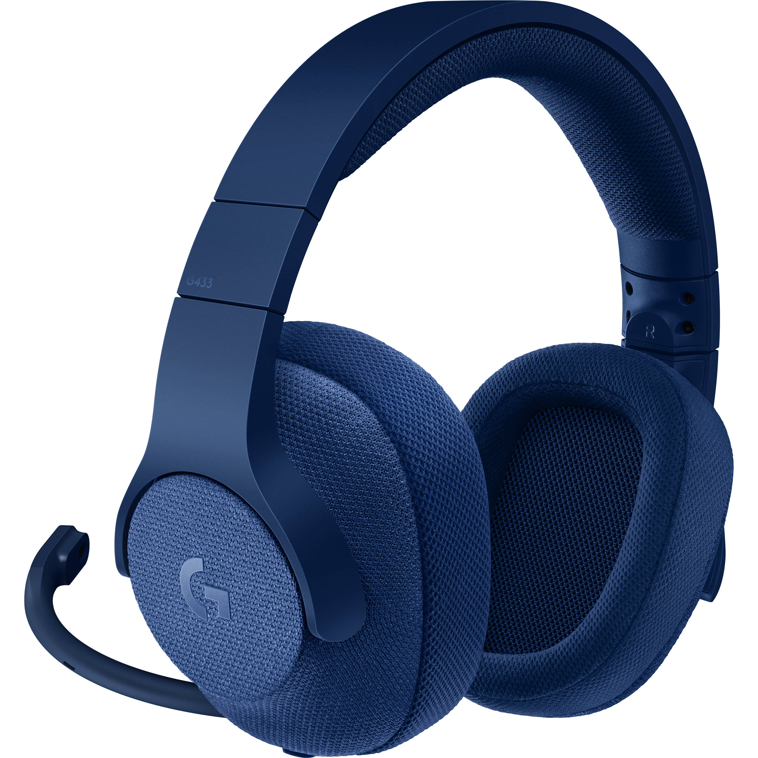 Logitech G433 7 1 Surround Wired Gaming Headset Blue