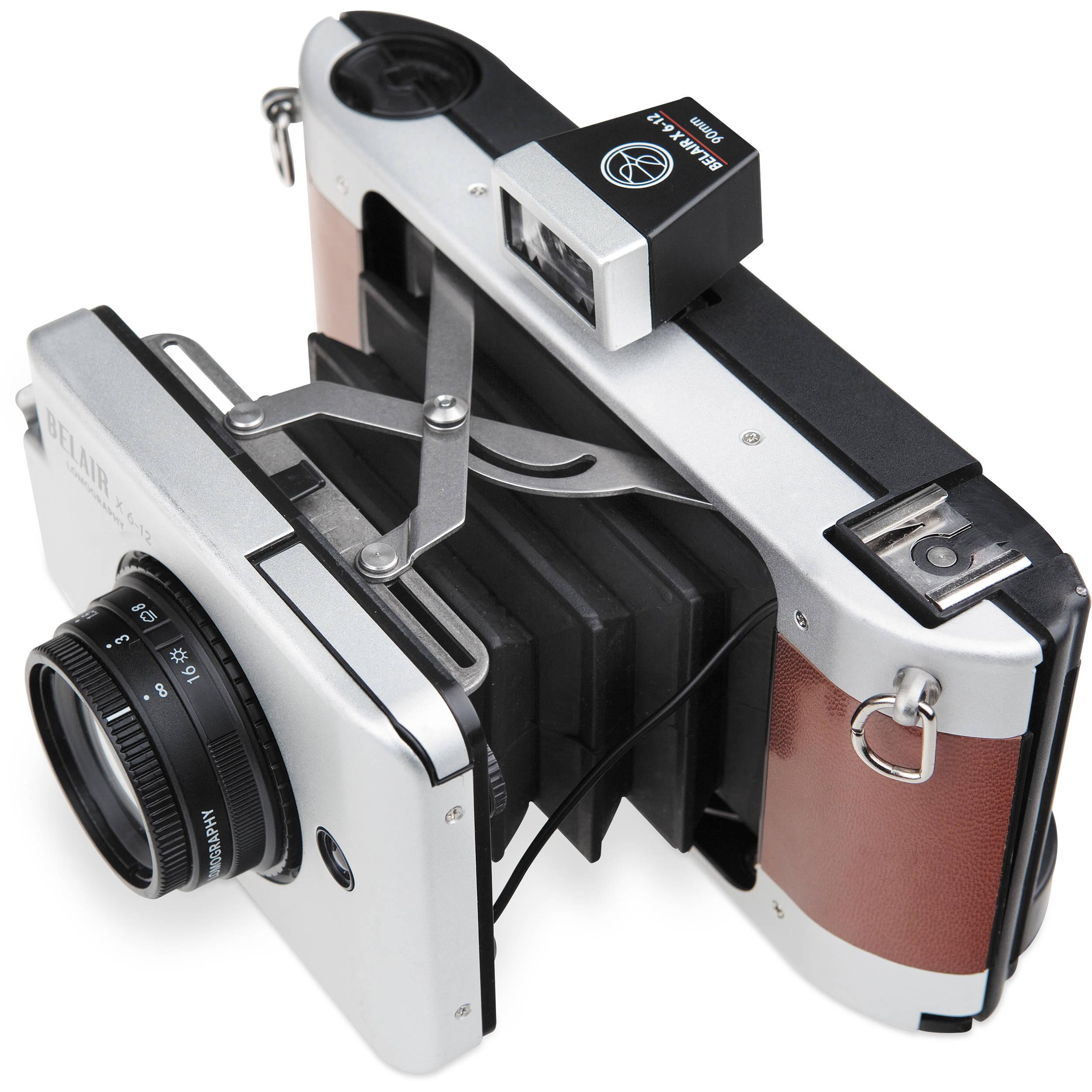 Lomography Belair X 6-12 Jetsetter Medium Format Camera HP810S