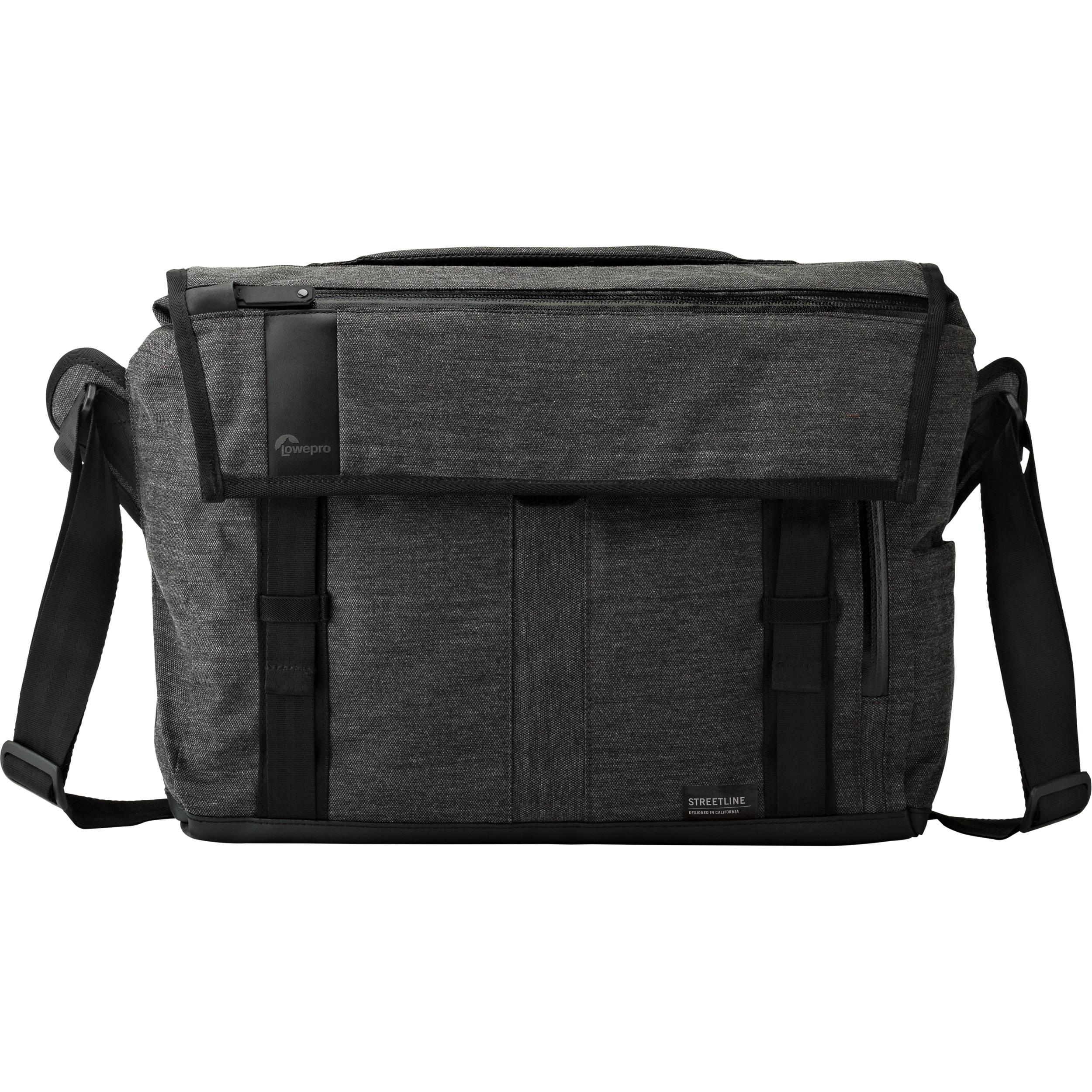 009cc4f0a1 Lowepro StreetLine SH 180 Bag (Charcoal Gray) LP36944 B H Photo