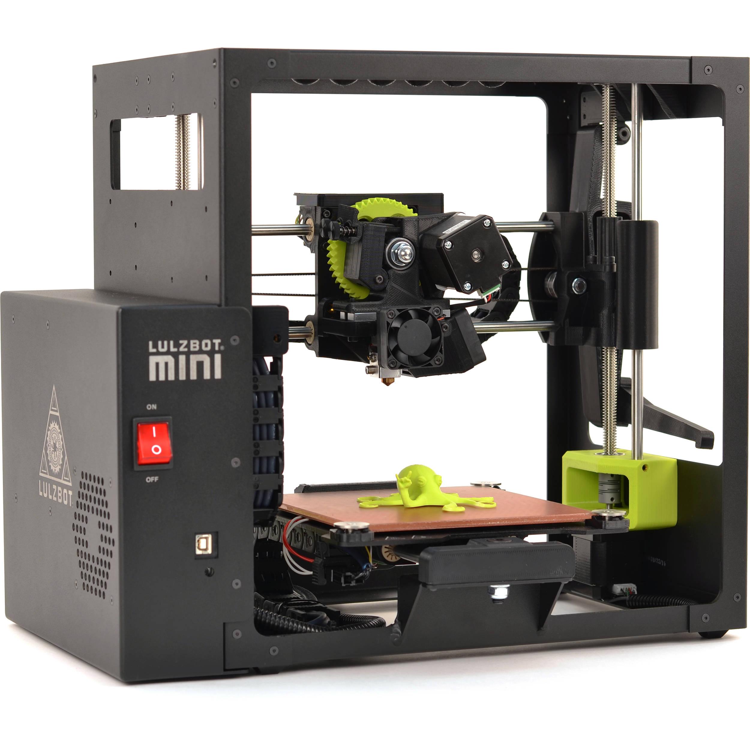 LulzBot Mini 3D Printer KT-PR0035NA B&H Photo Video