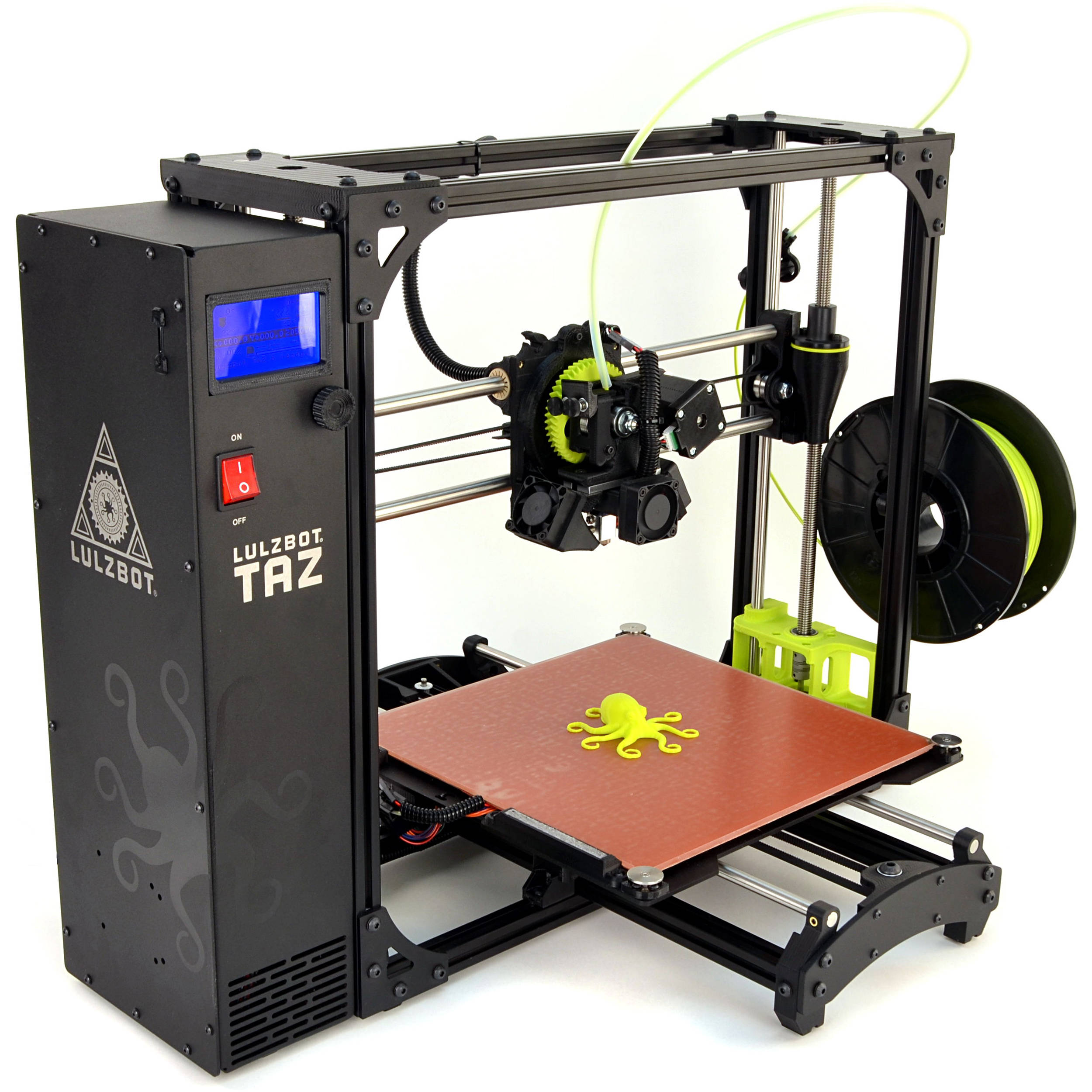 LulzBot TAZ 6 3D Printer KT-PR0041NA B&H Photo Video