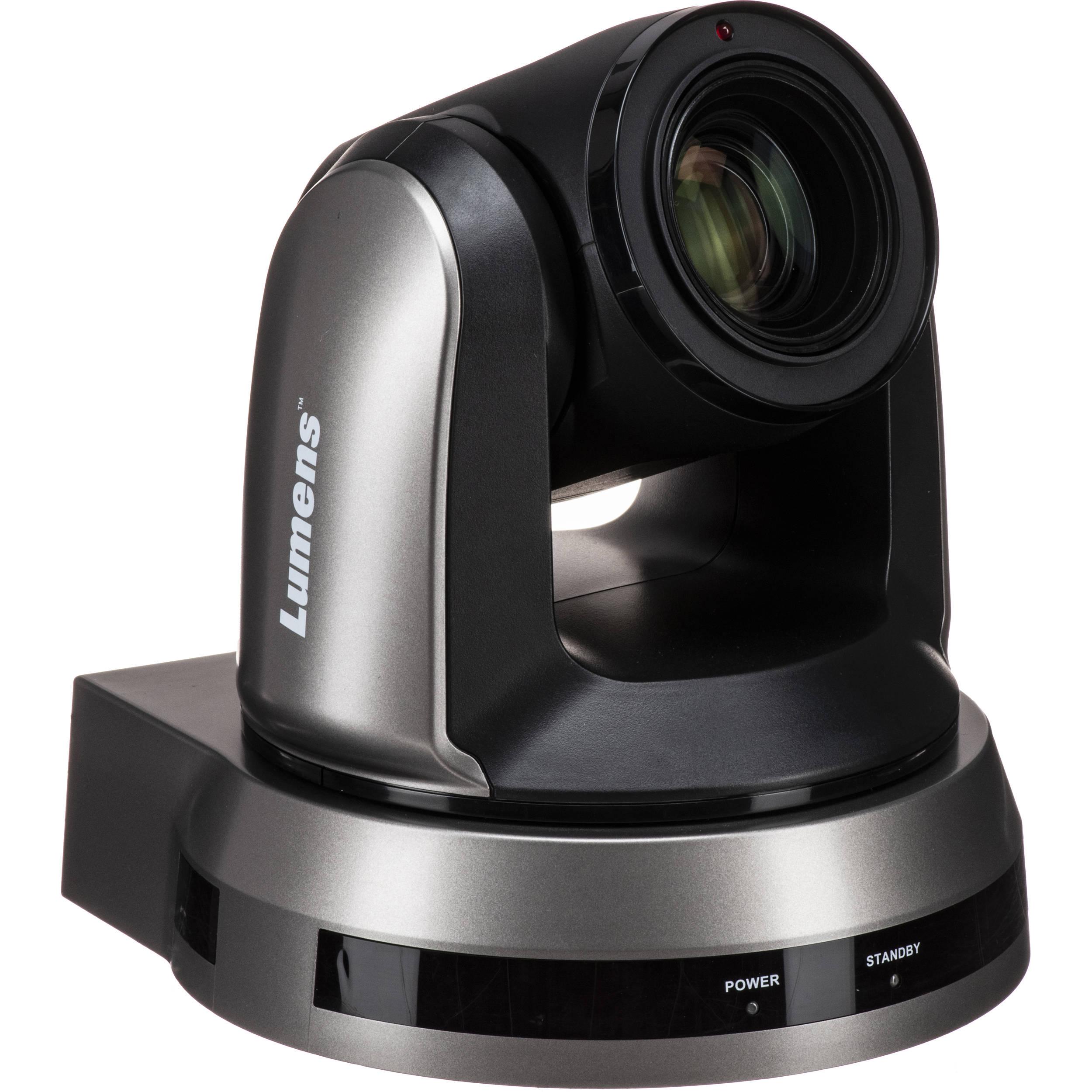 4K UHD 12x Optical Zoom PTZ Video Camera (Black)