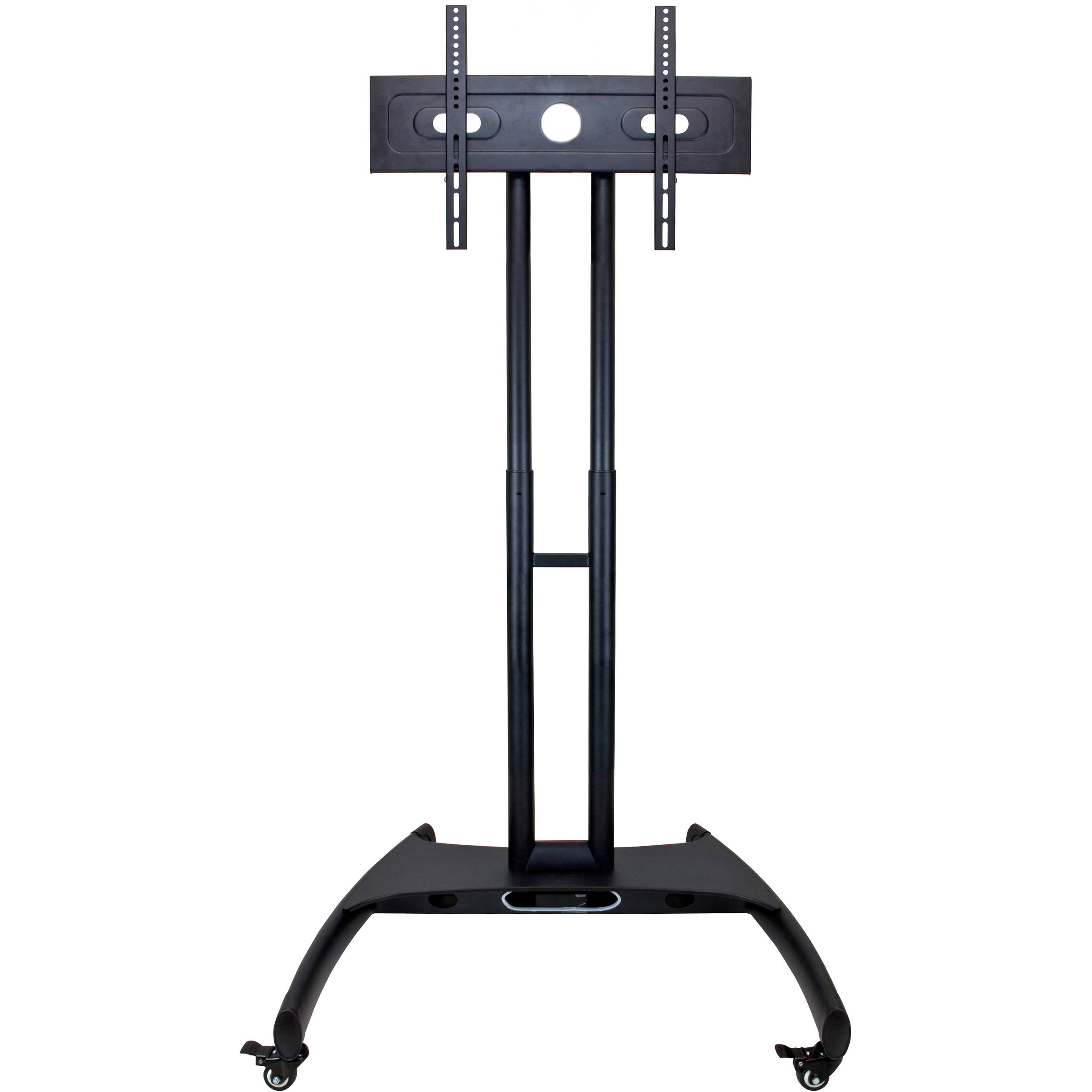 luxor fp2000 adjustable height lcd tv stand and mount. Black Bedroom Furniture Sets. Home Design Ideas