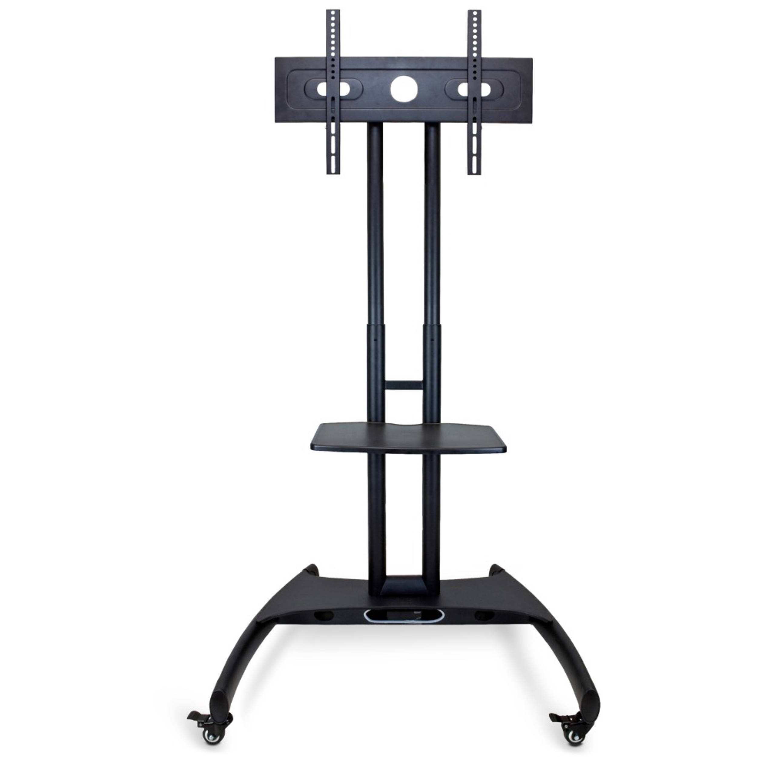 luxor fp adjustable height lcd tv stand fp bh photo - luxor fp adjustable height lcd tv stand andnbspmount with accessoryshelf