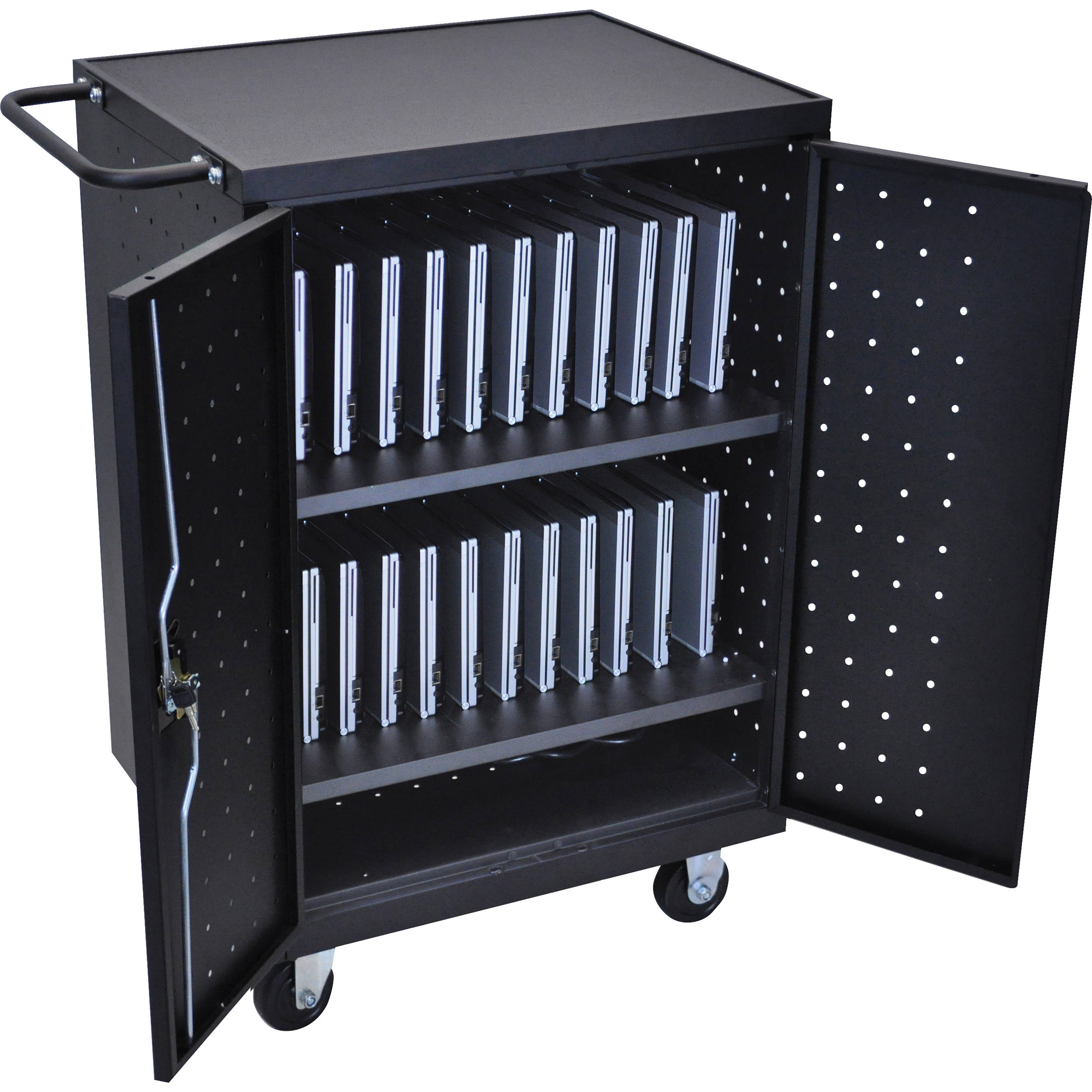 storage laptop cabinet secure security cabinets portfolio