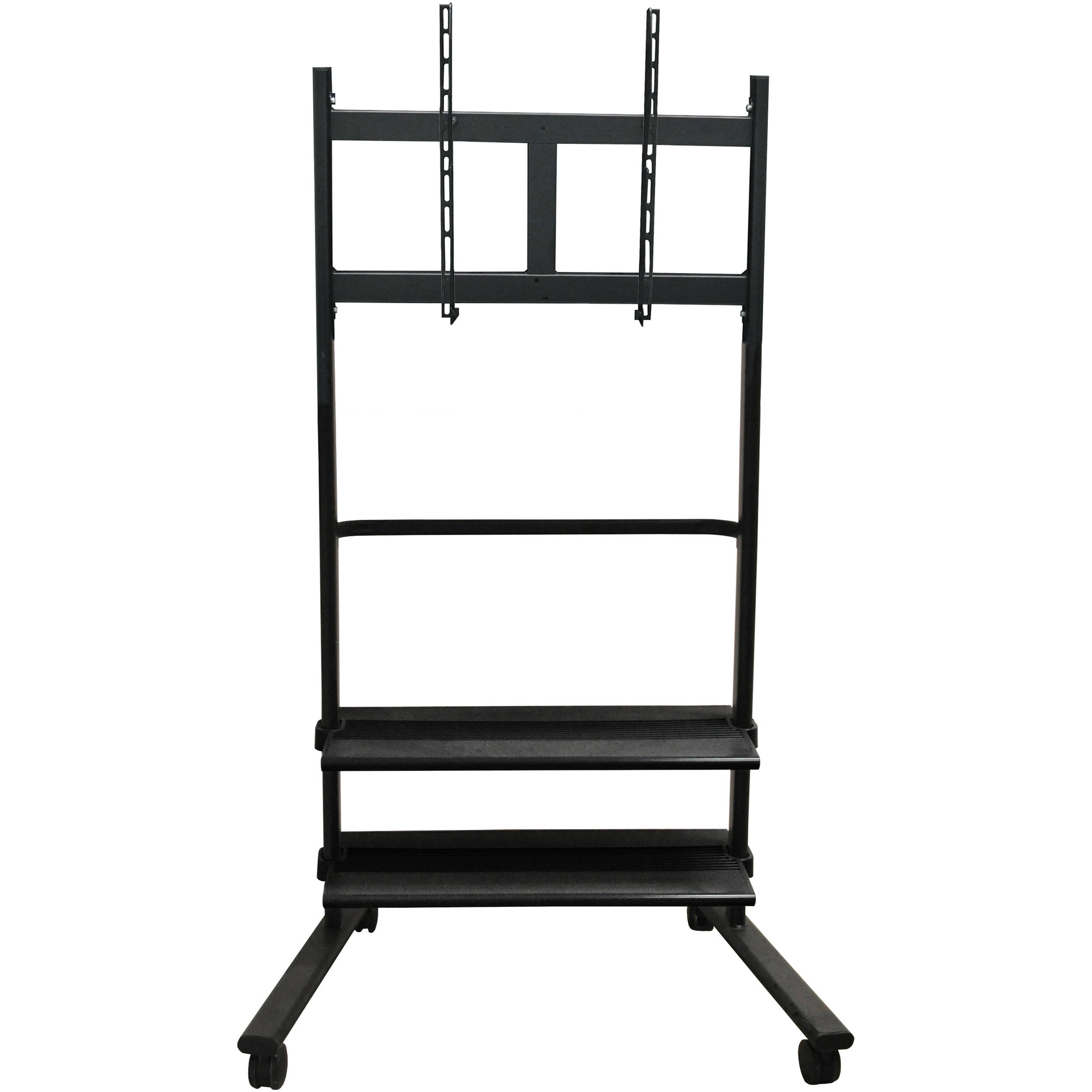 Luxor Wfp200 B Universal Lcd Tv Stand With Two Shelves Wfp200 B