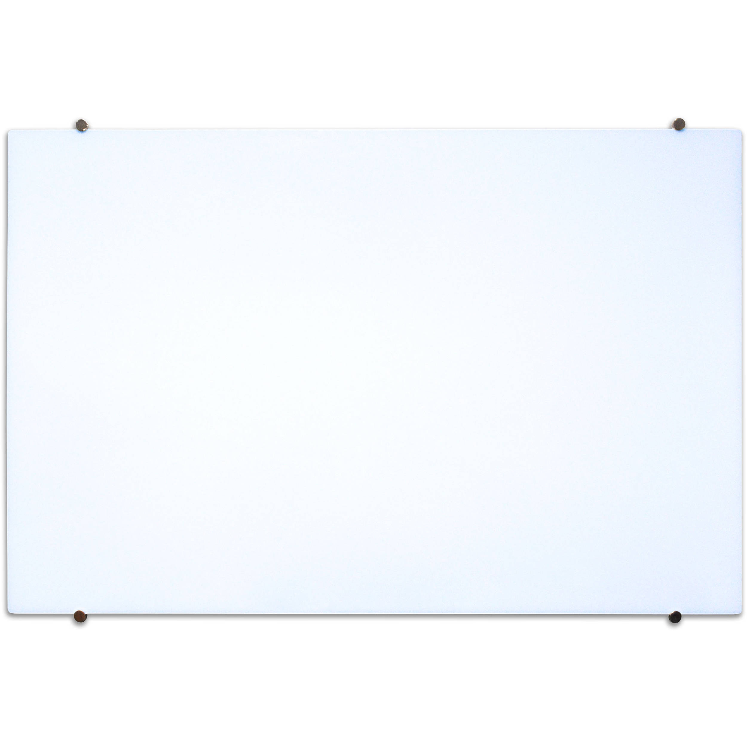 Luxor Wall Mountable Magnetic Glass Board Wgb4030m B Amp H Photo