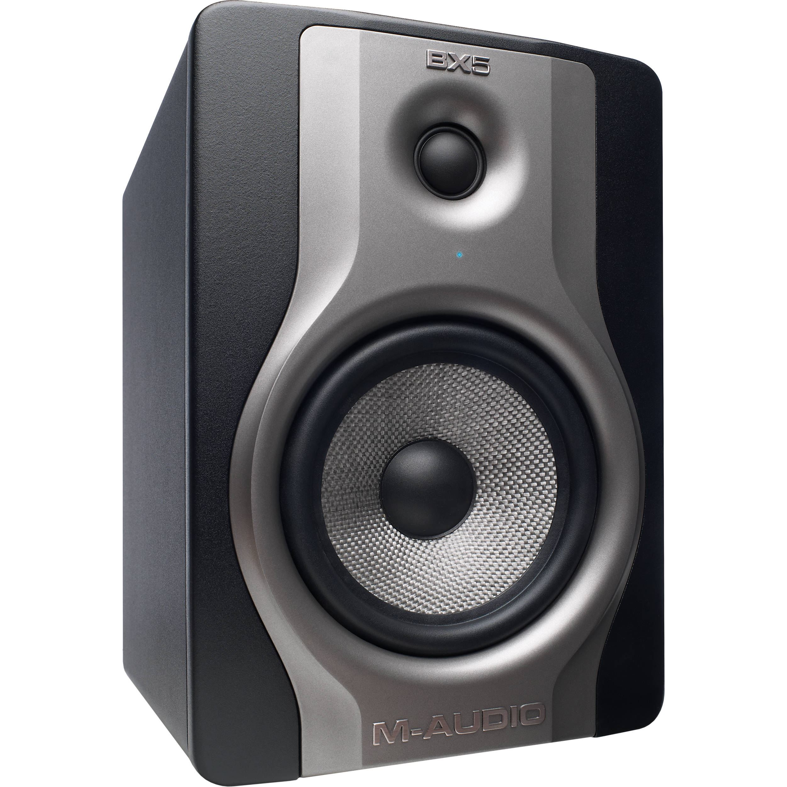 m audio bx5 carbon monitor two way studio monitor bx5carbonxus. Black Bedroom Furniture Sets. Home Design Ideas