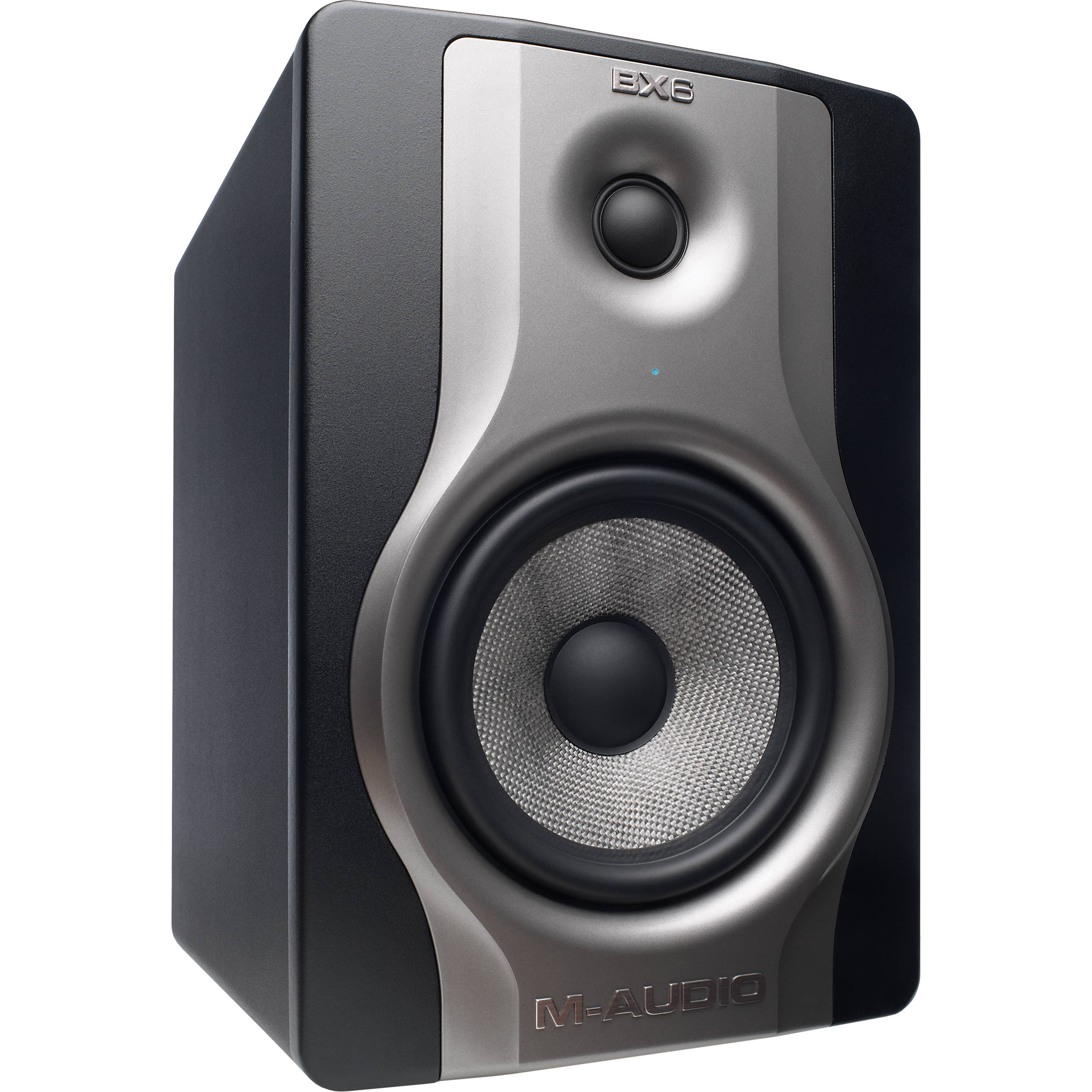M Audio Bx6 Carbon Monitor Two Way Studio Bx6carbonxus Fuse Condition With Led Indicator 6 Woofer
