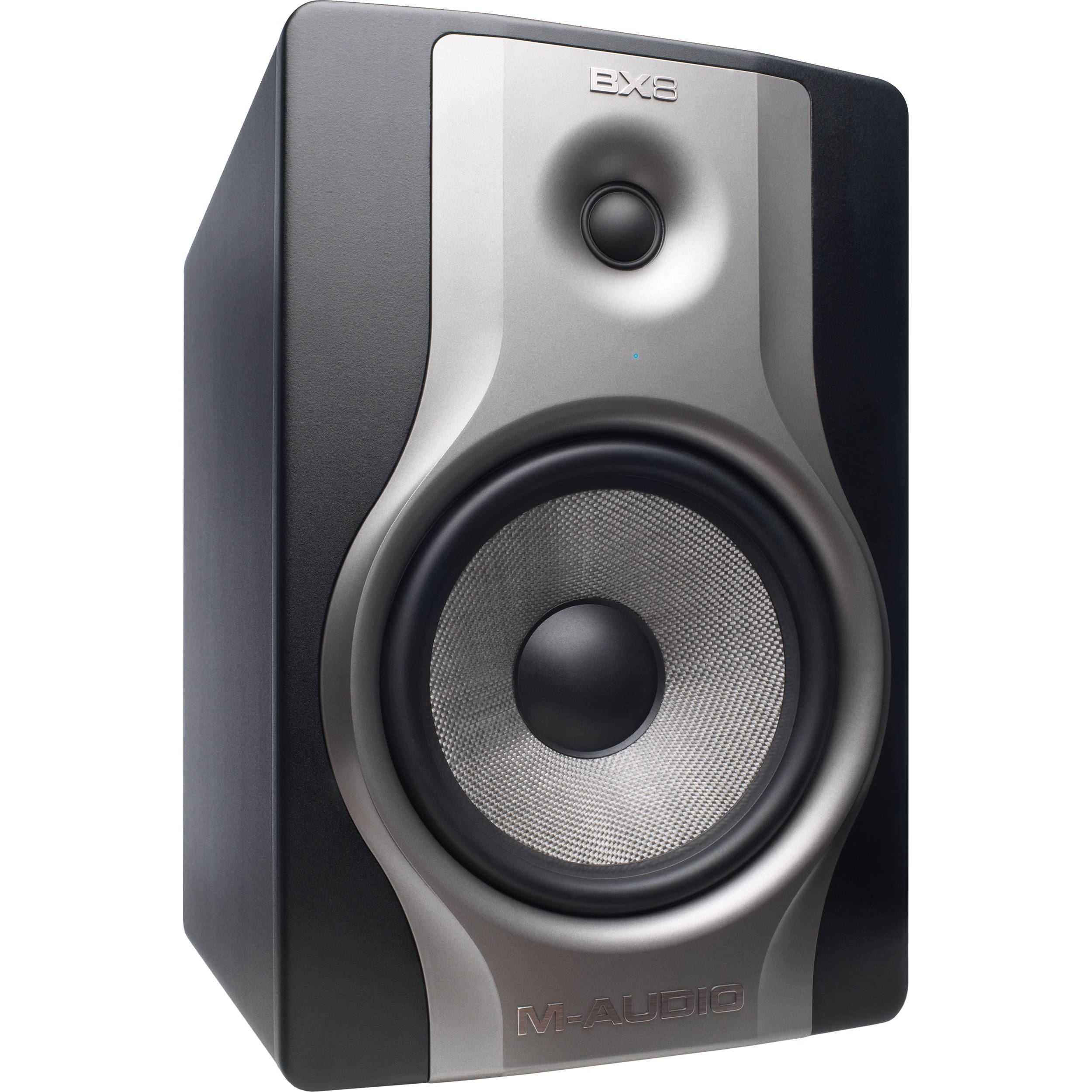 m audio bx8 carbon monitor two way studio monitor bx8carbonxus. Black Bedroom Furniture Sets. Home Design Ideas