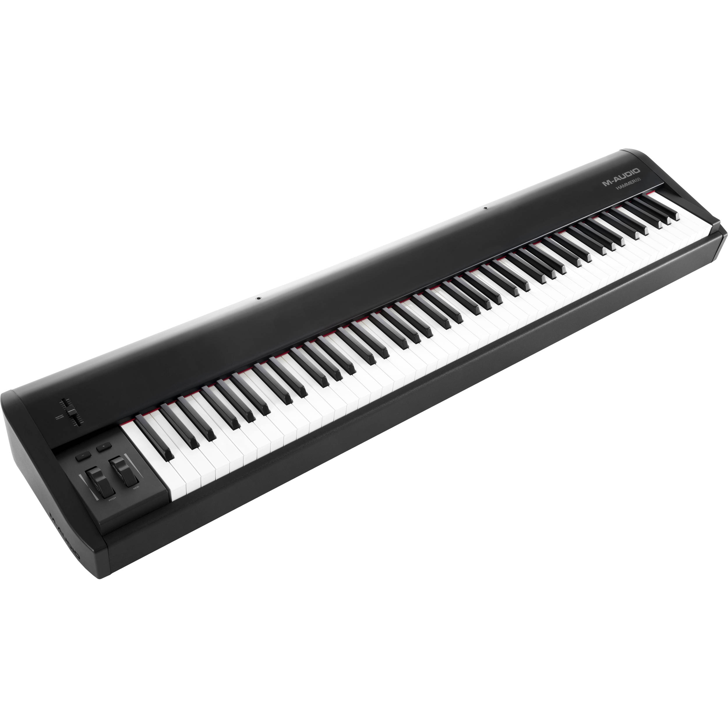 m audio hammer 88 88 key usb midi keyboard controller hammer 88. Black Bedroom Furniture Sets. Home Design Ideas