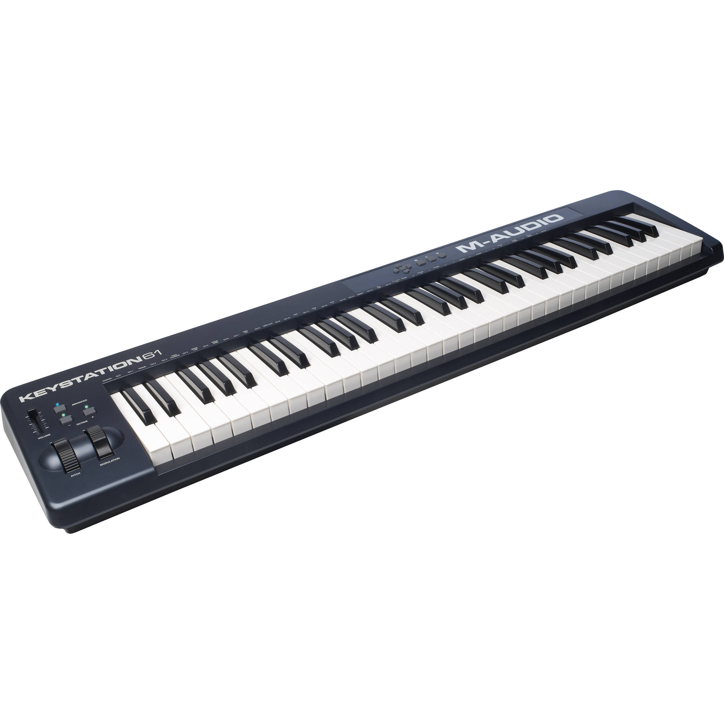 m audio keystation 61 ii midi controller keystation61ii b h. Black Bedroom Furniture Sets. Home Design Ideas