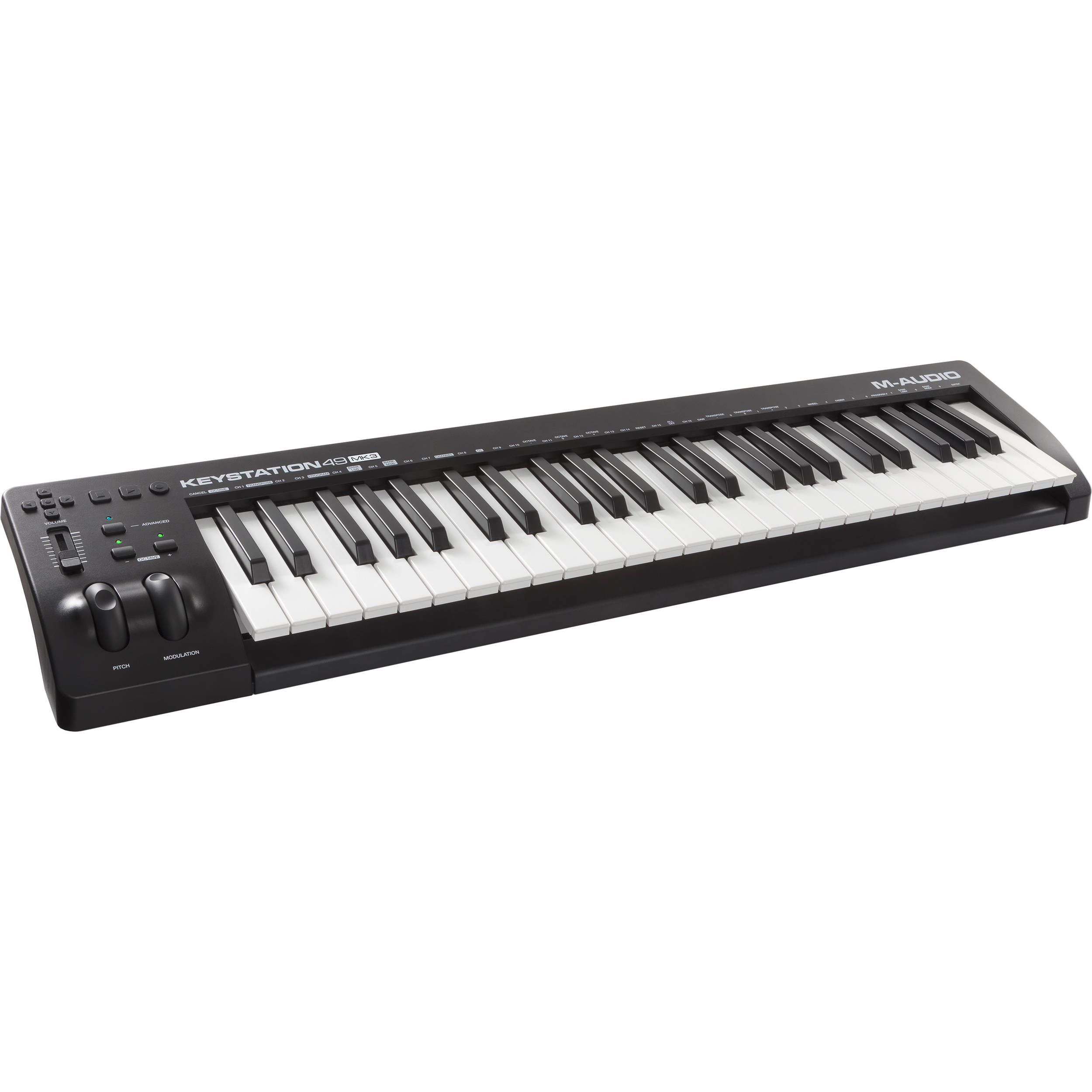 m audio keystation 49 mk3 49 key usb powered keystation 49 mk3. Black Bedroom Furniture Sets. Home Design Ideas