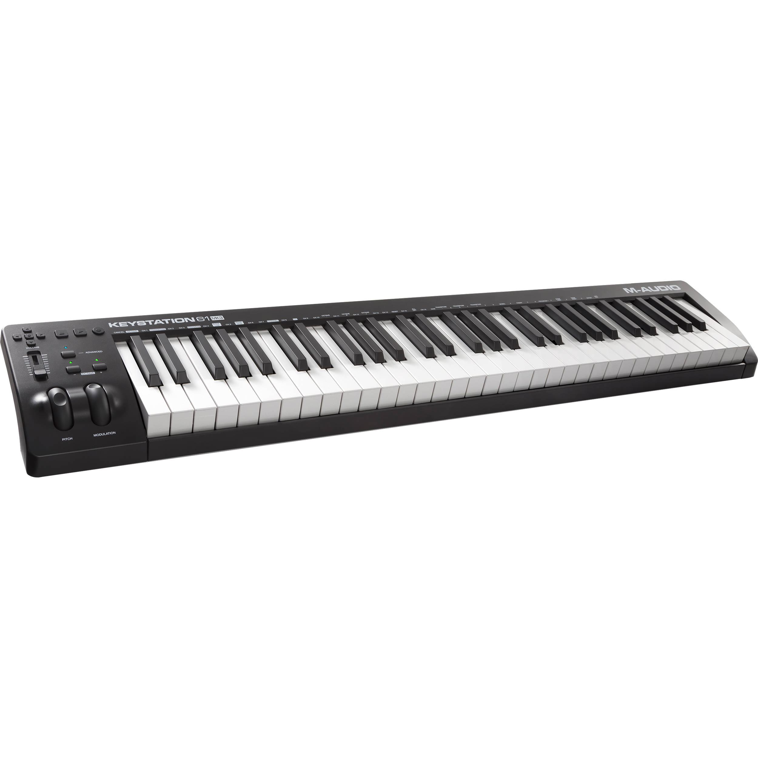 m audio keystation 61 mk3 61 key usb powered keystation 61 mk3. Black Bedroom Furniture Sets. Home Design Ideas