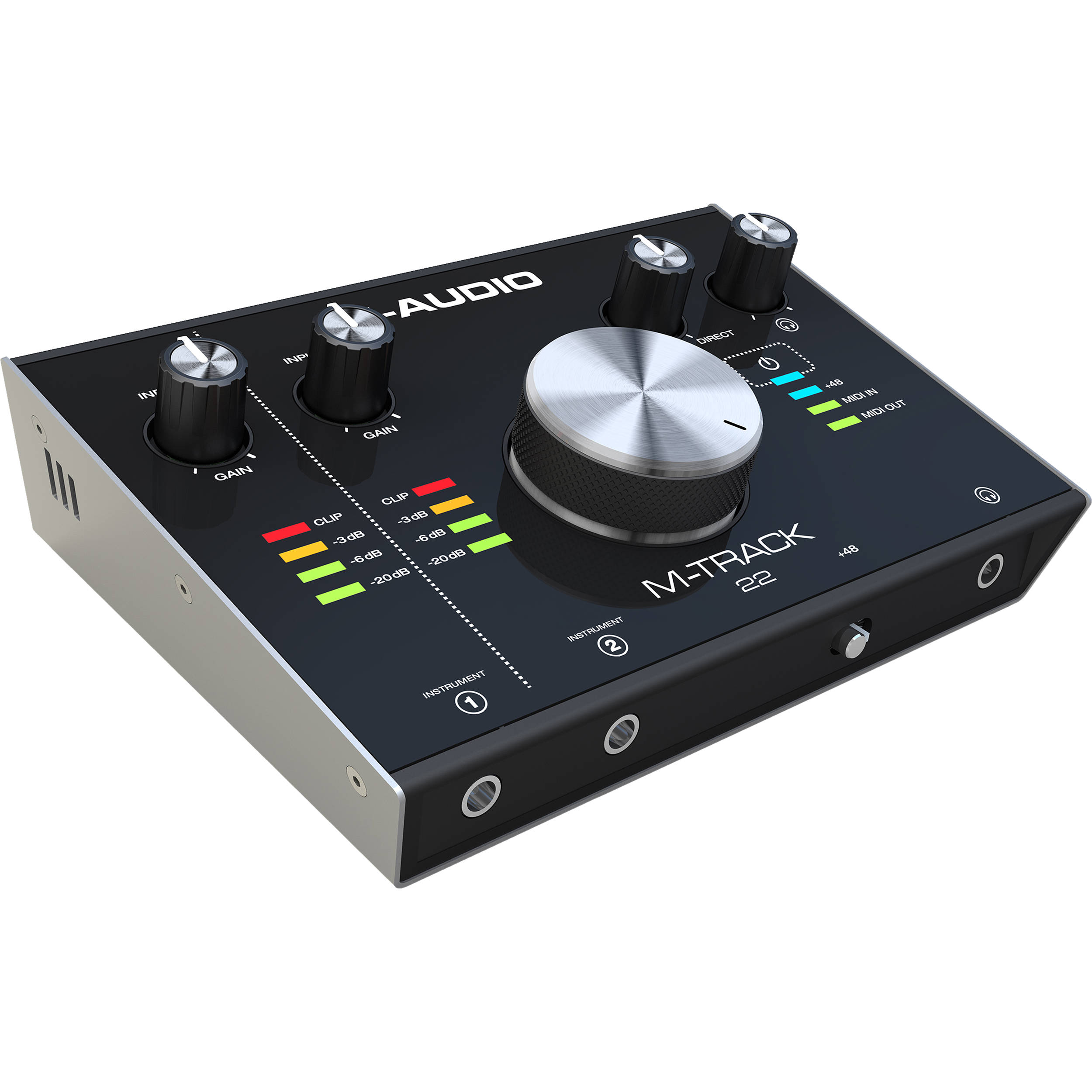 m audio m track 22 24 bit 192 khz usb audio interface m track. Black Bedroom Furniture Sets. Home Design Ideas
