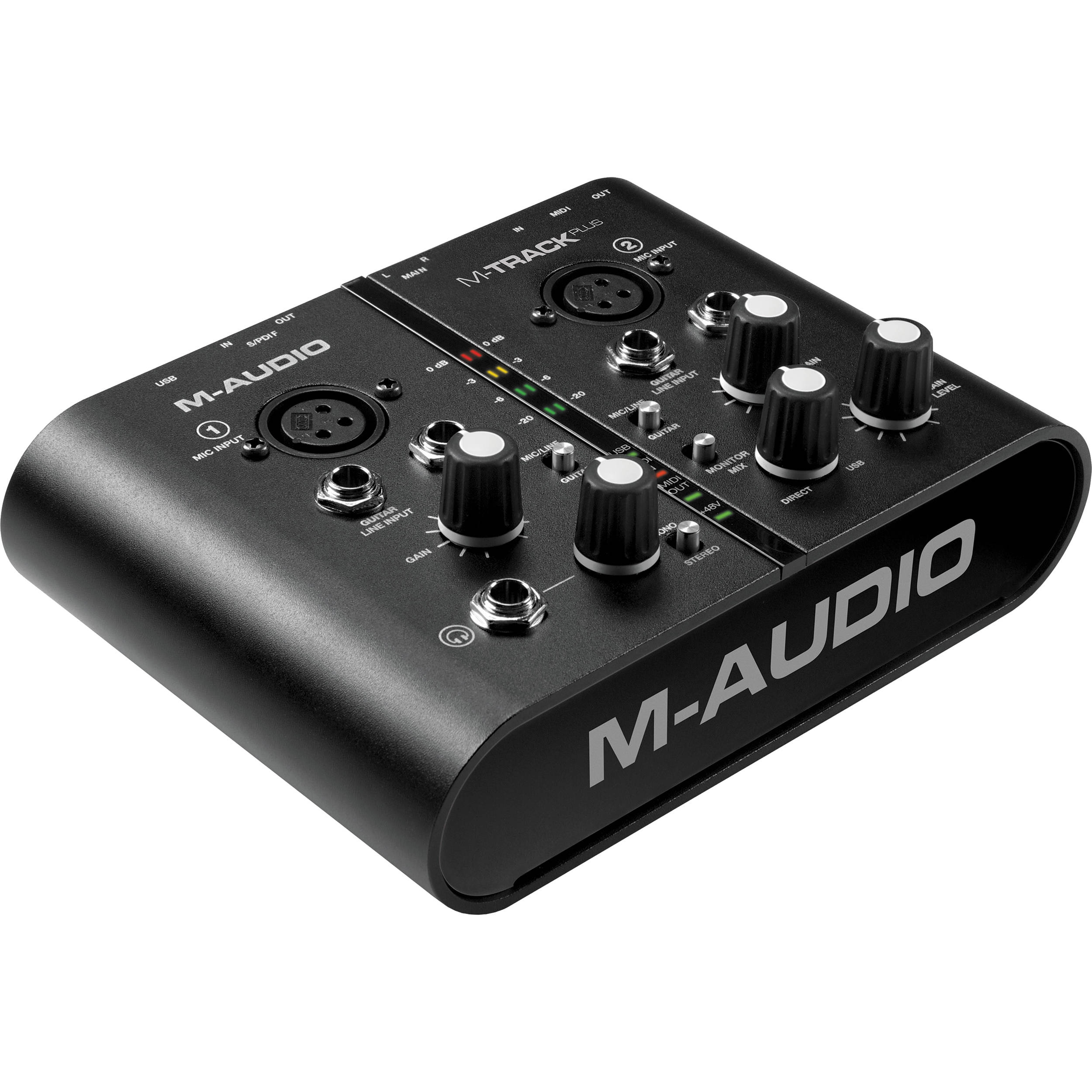 m audio m track plus usb audio midi interface mtrack plusnpte. Black Bedroom Furniture Sets. Home Design Ideas