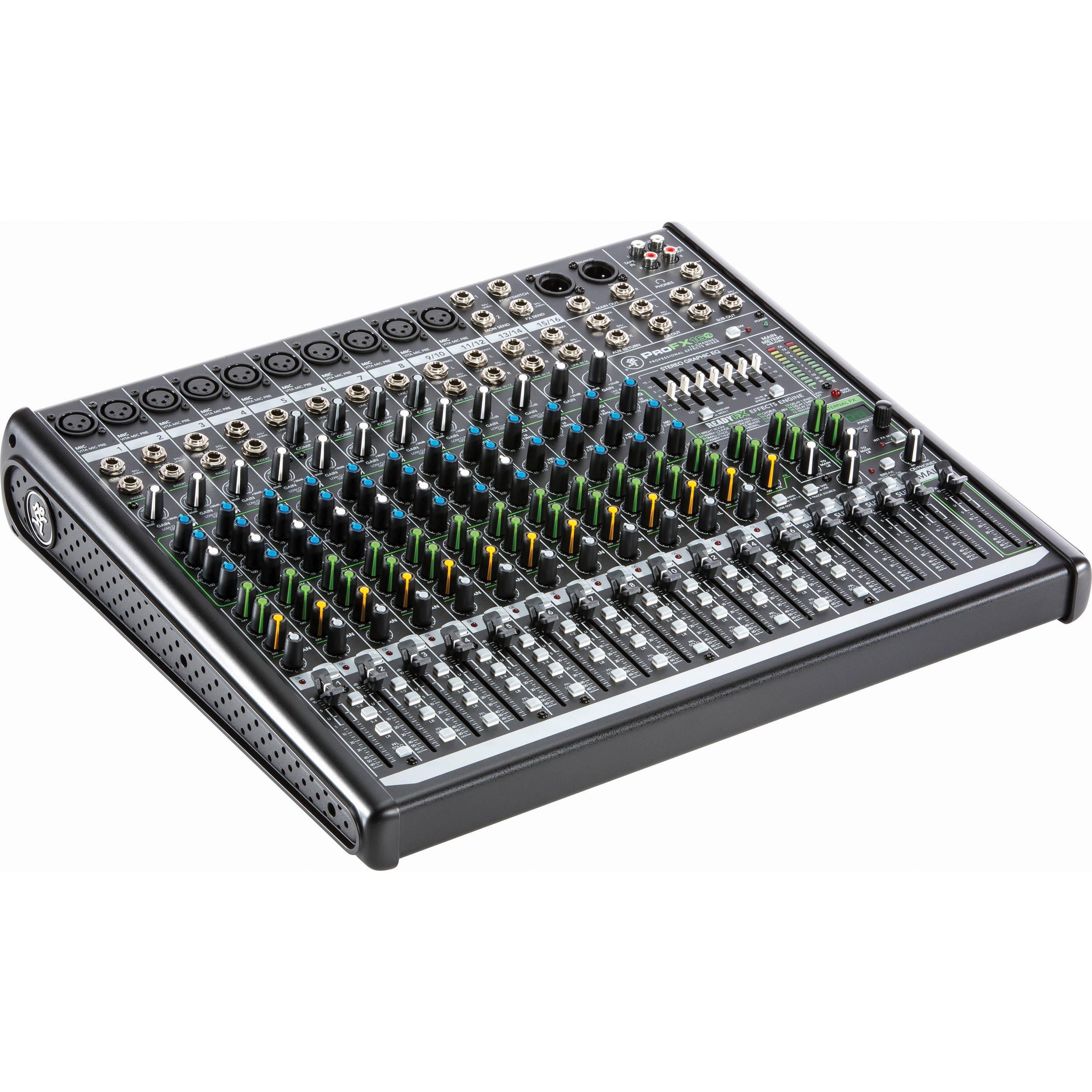 Mackie Profx16v2 16 Channel Sound Reinforcement Mixer